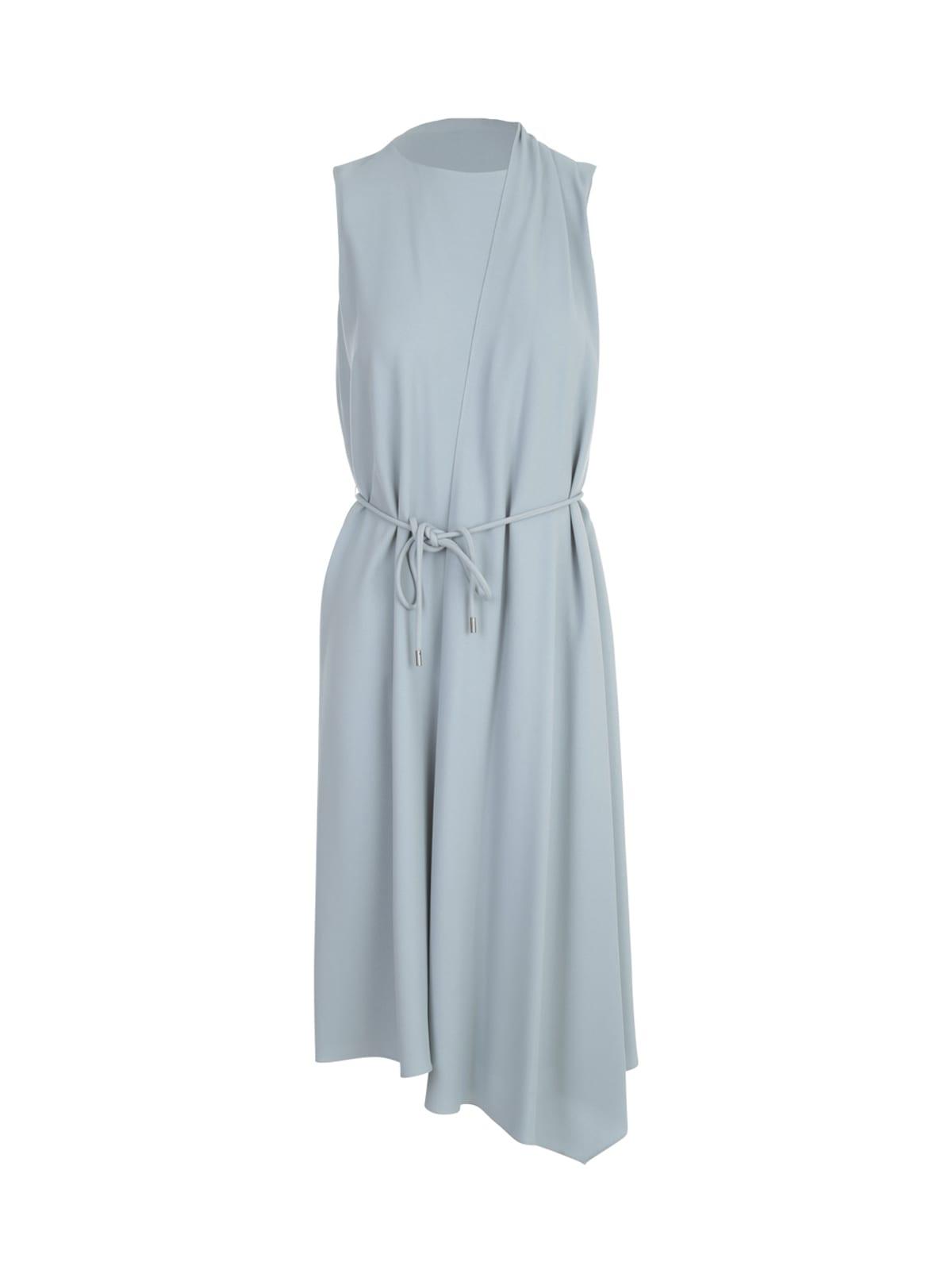 Theory Drape Tie Sleeveless Dress