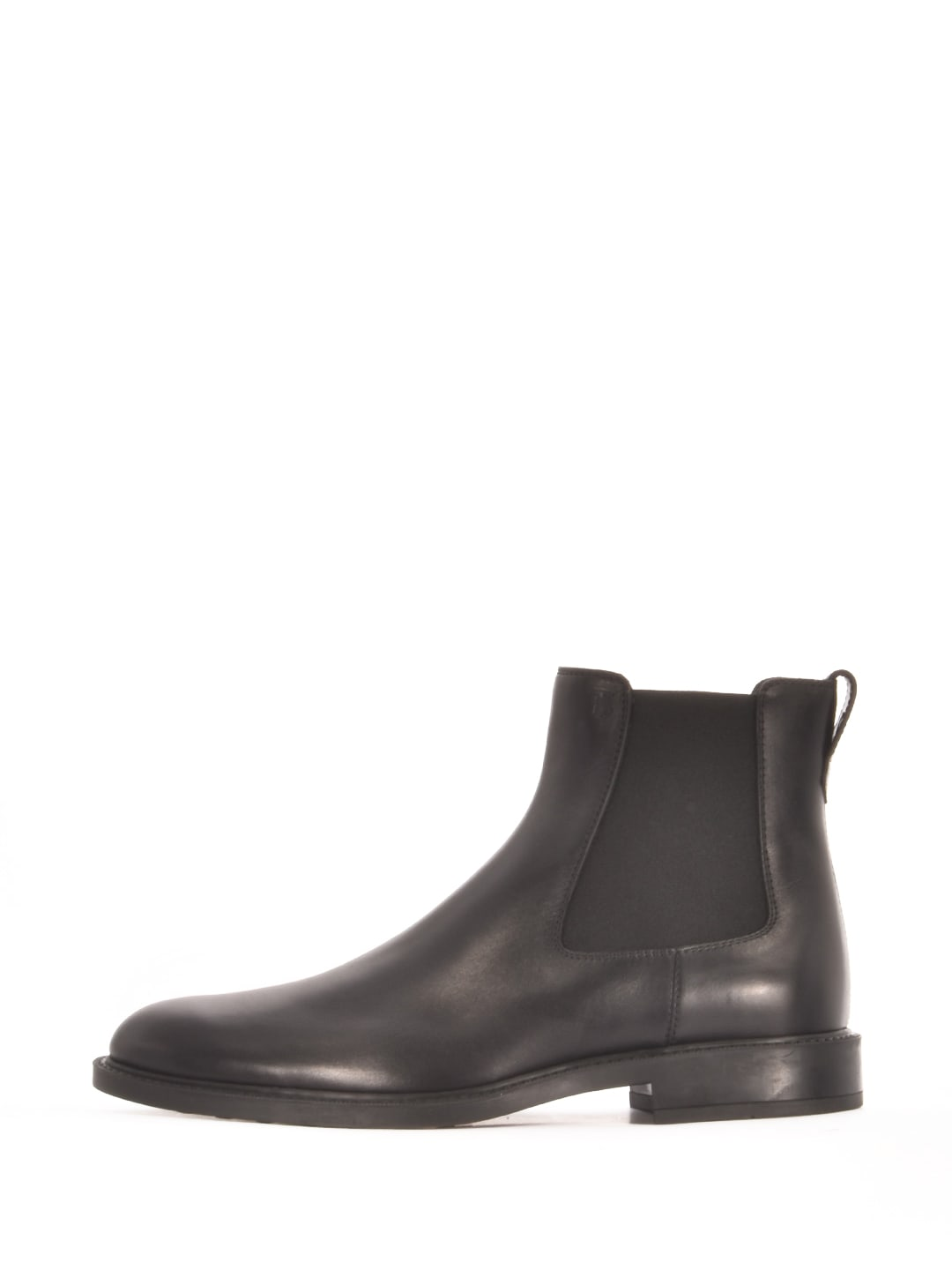 Tods Ankle Boot Black Leather
