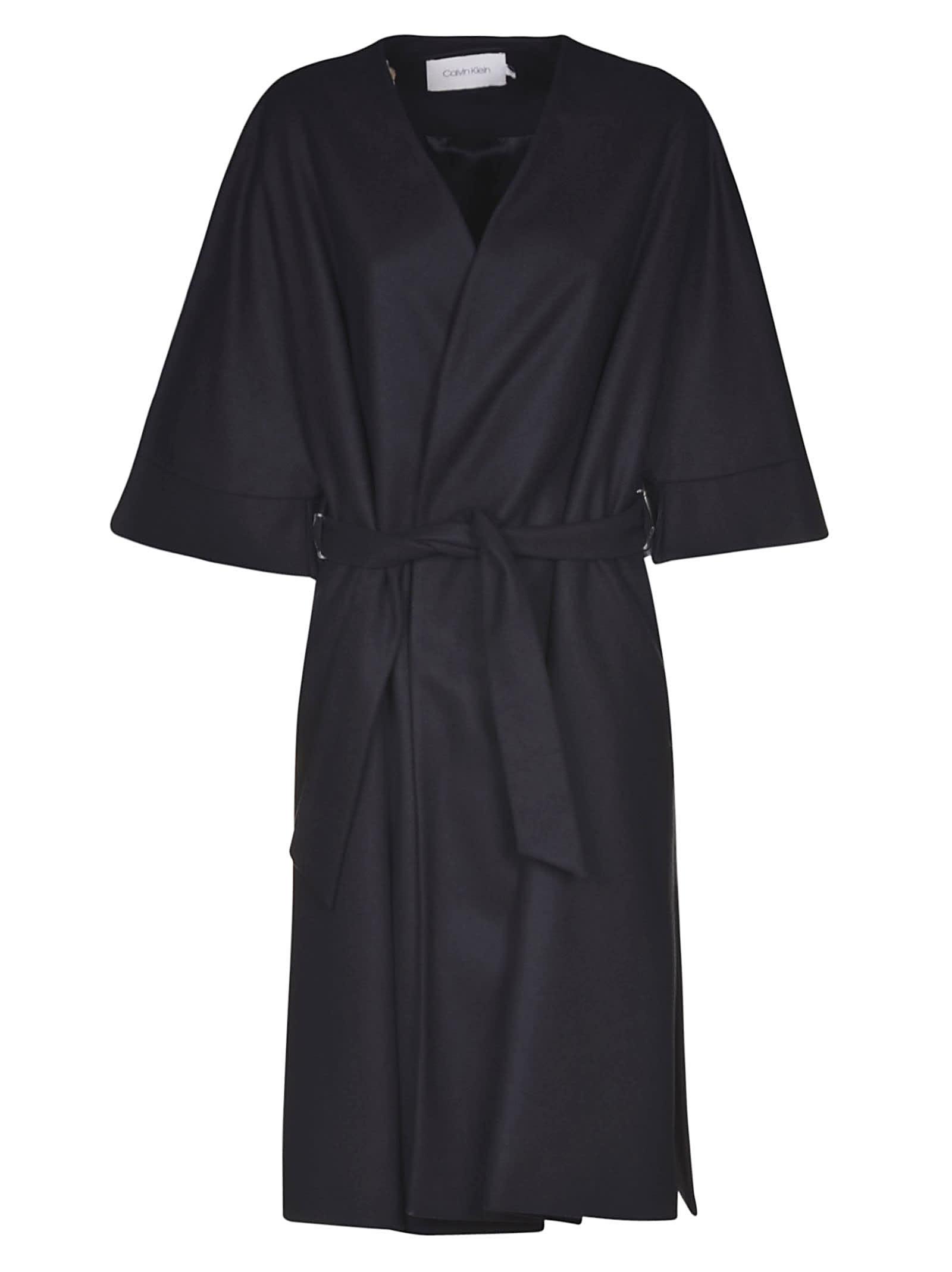Calvin Klein V-neck Cardi-coat