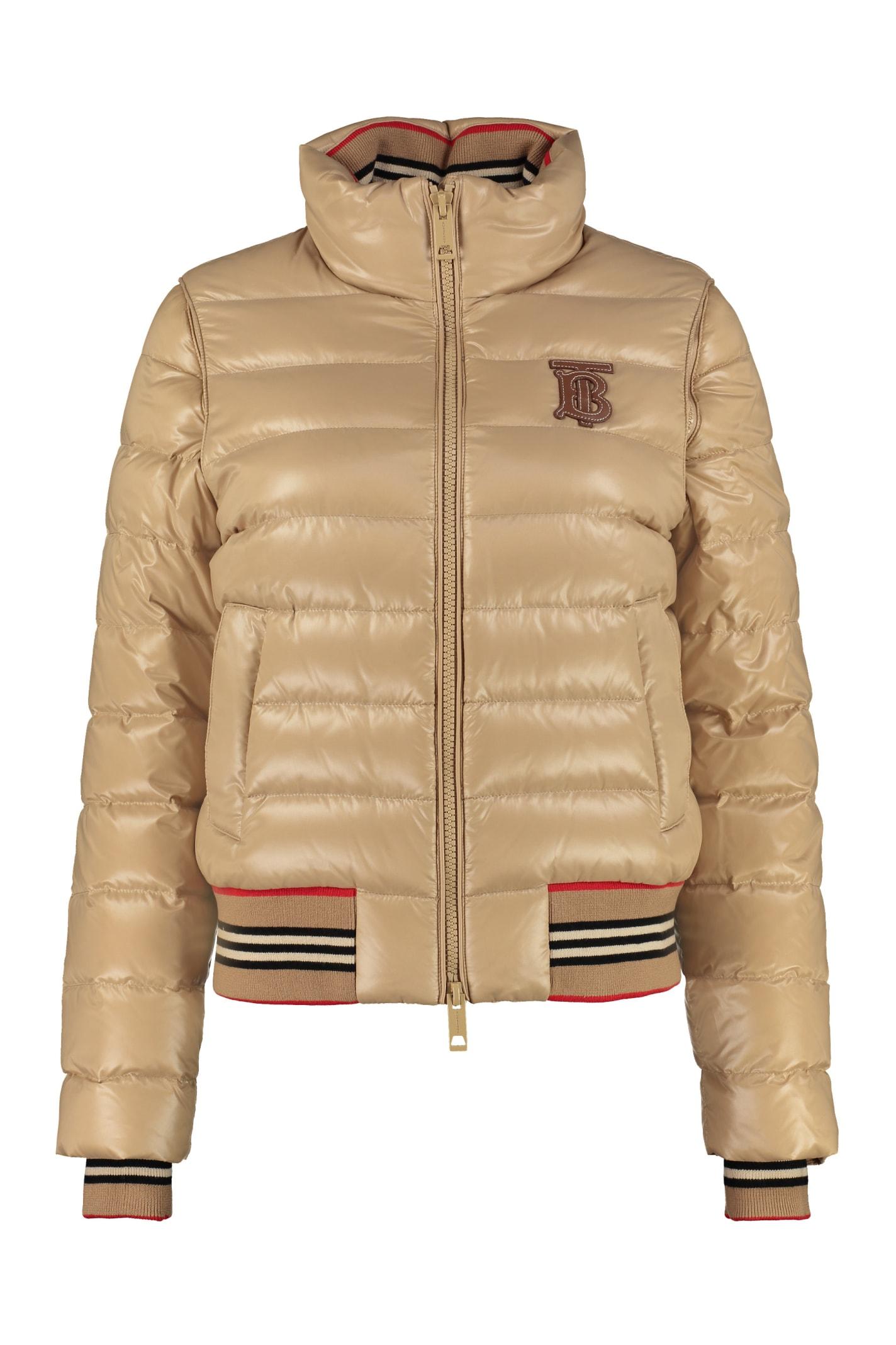 Burberry Detachable Sleeves Down Jacket