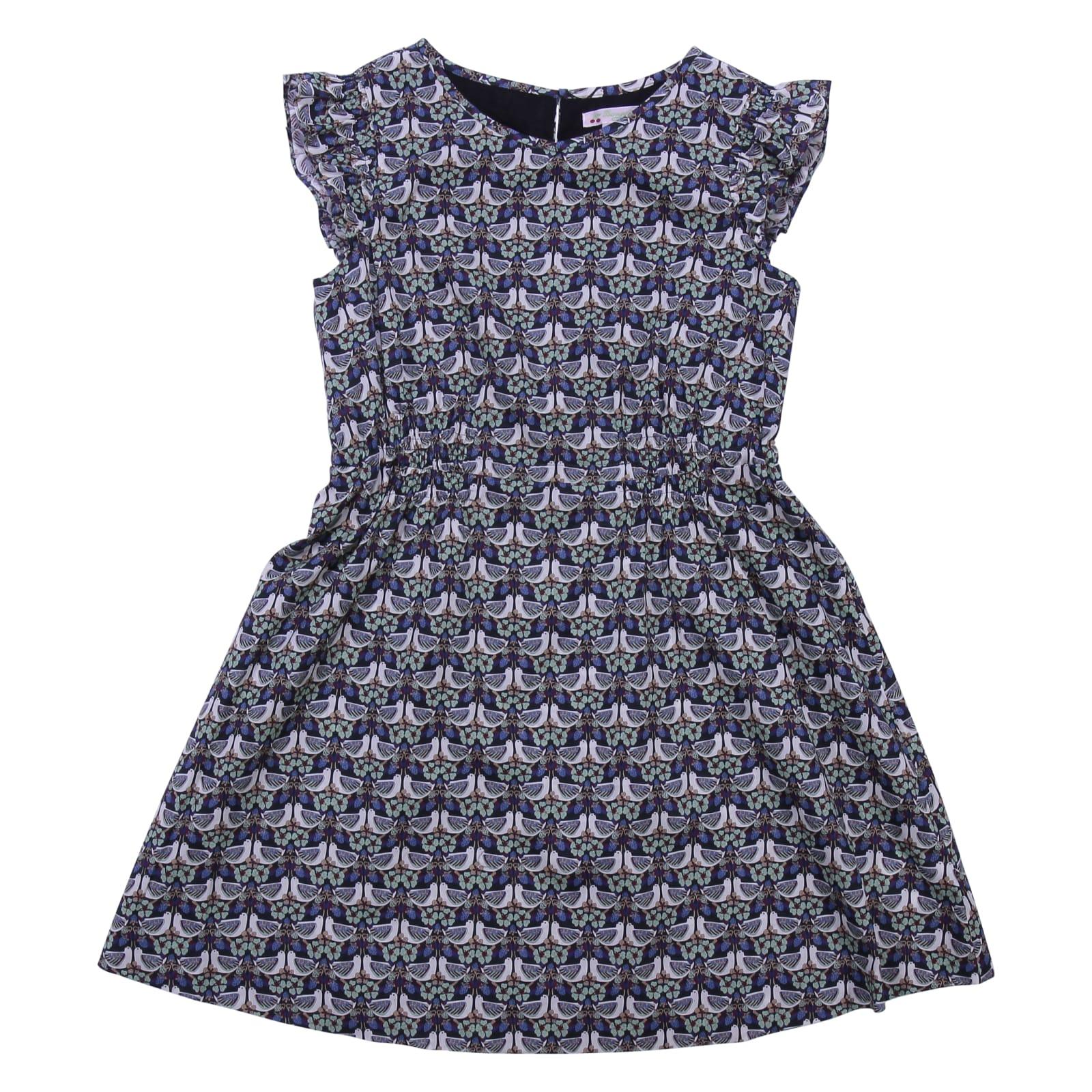 Bonpoint Printed Cotton Dress