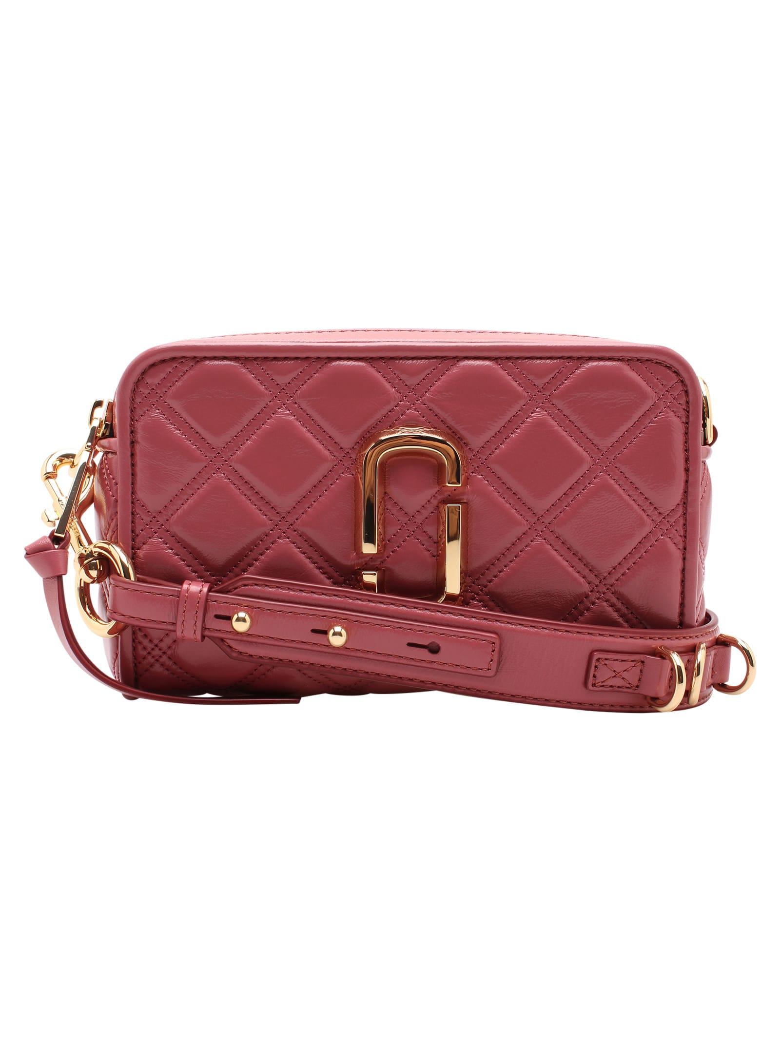Marc Jacobs quilted Softshot Leather Shouder Bag