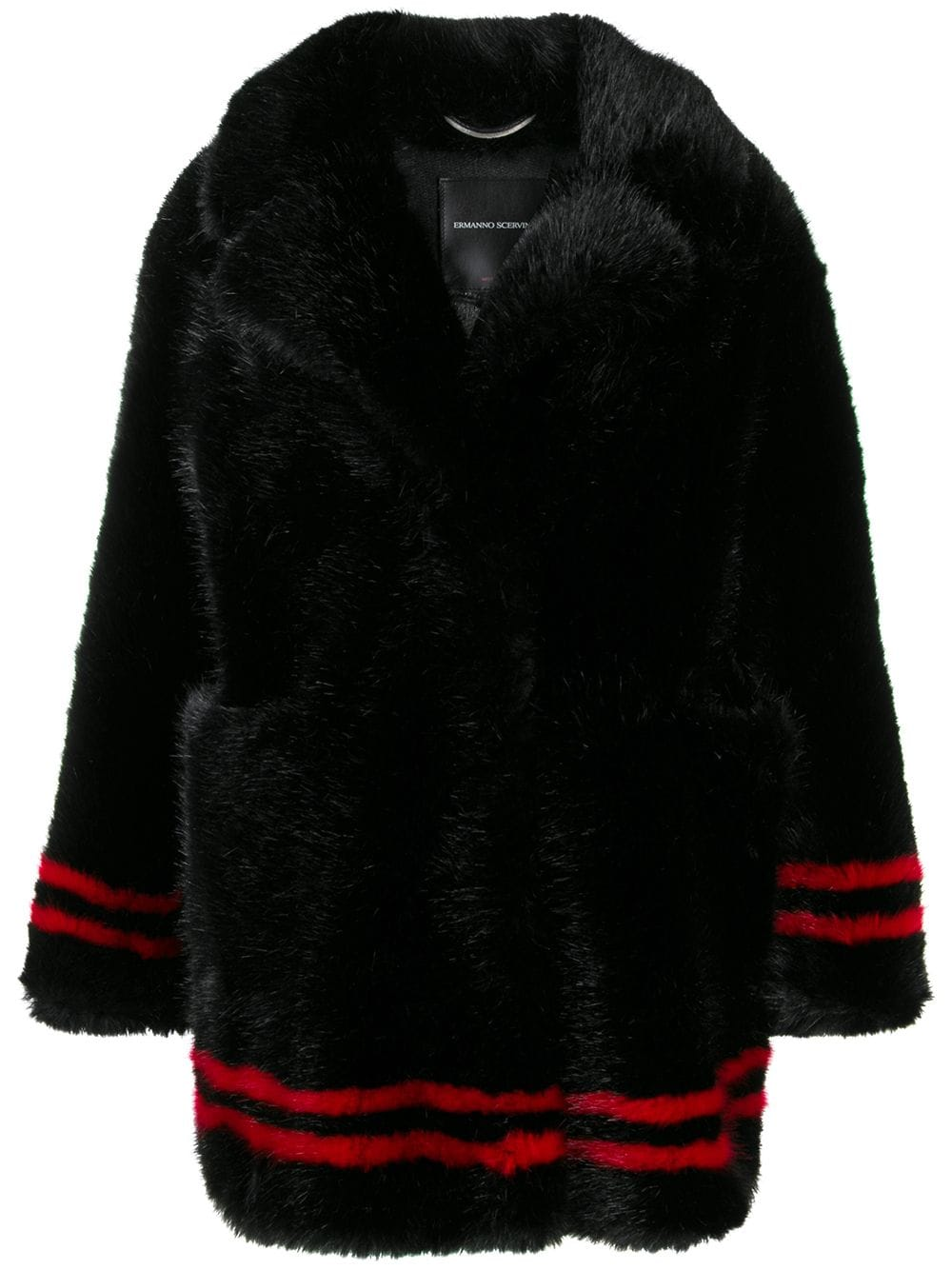 Ermanno Scervino Faux Fur Coat