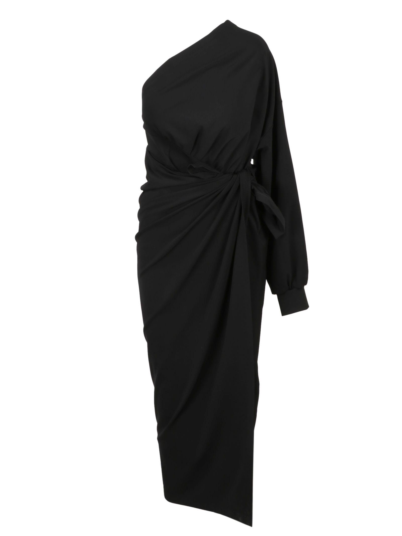 Balenciaga Body Wrap Dress