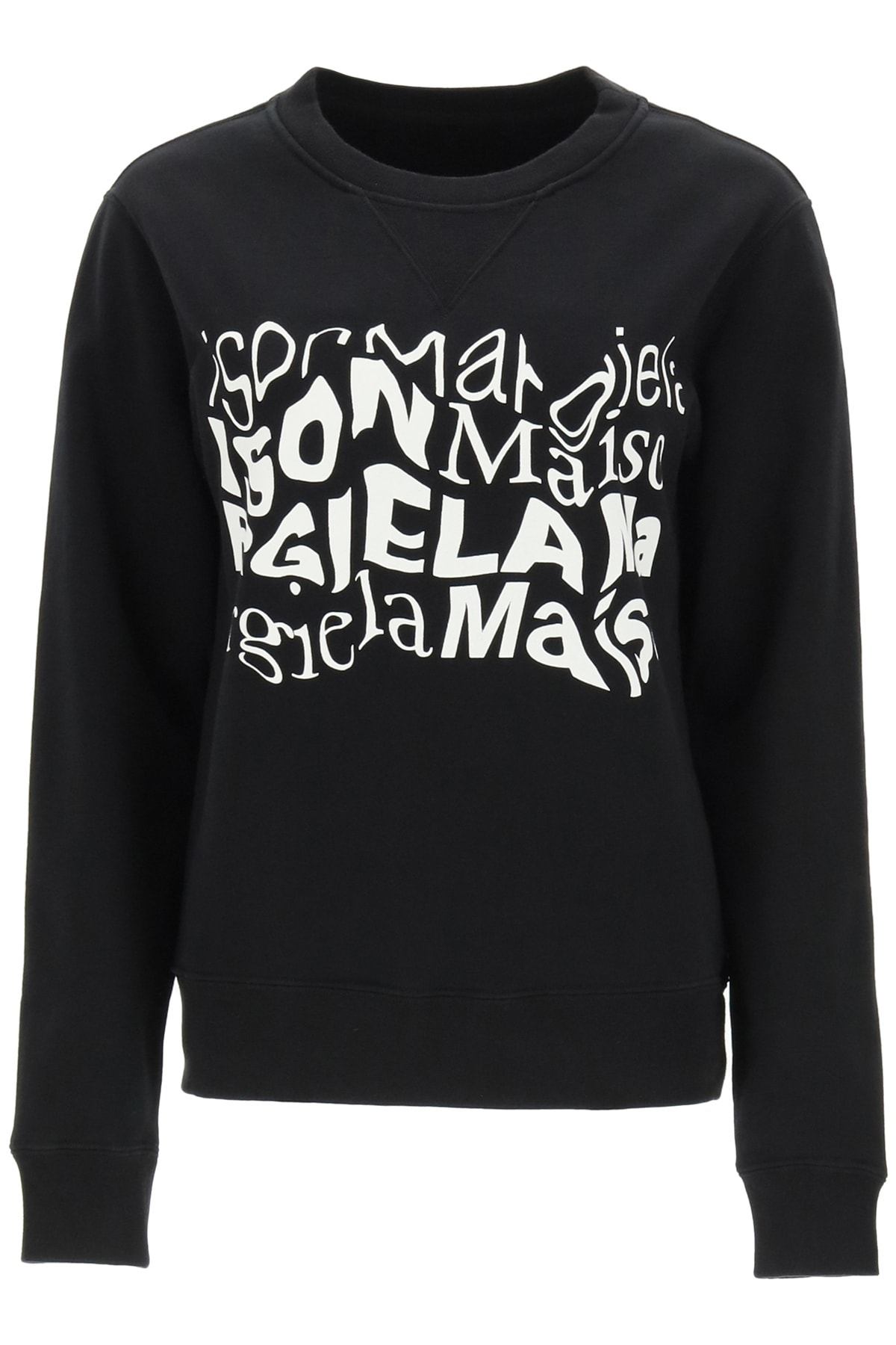 Maison Margiela Sweatshirt With Distorted Logo