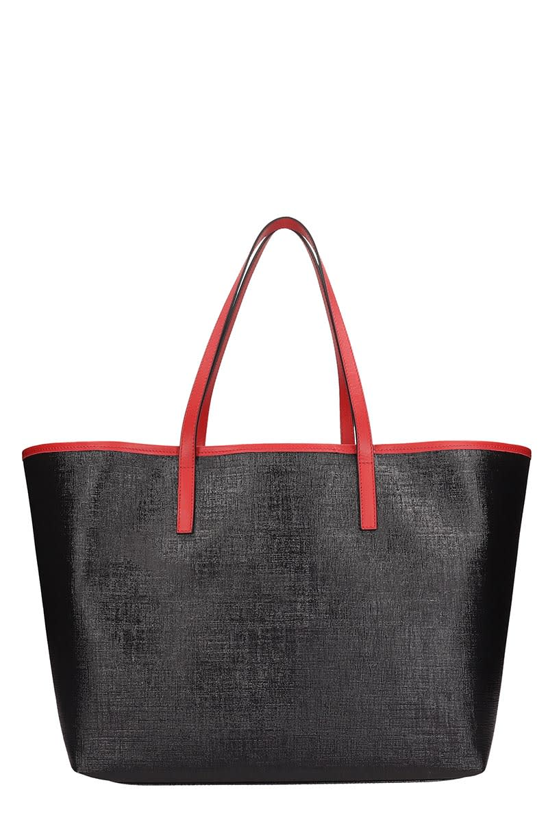 modern techniques high fashion top-rated latest Versace Black Leather Tote Bag