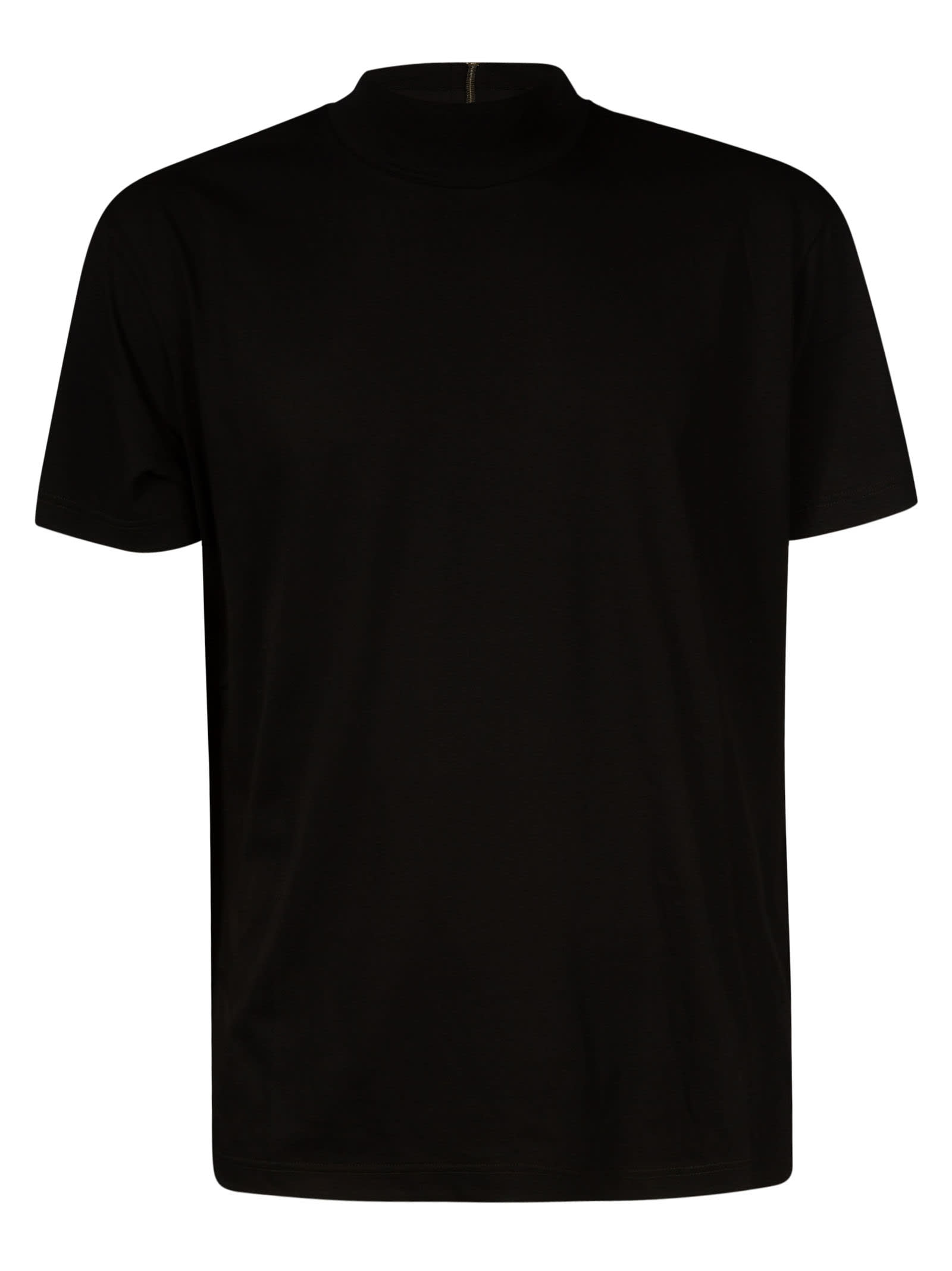 N.21 Back Neck Zip T-shirt