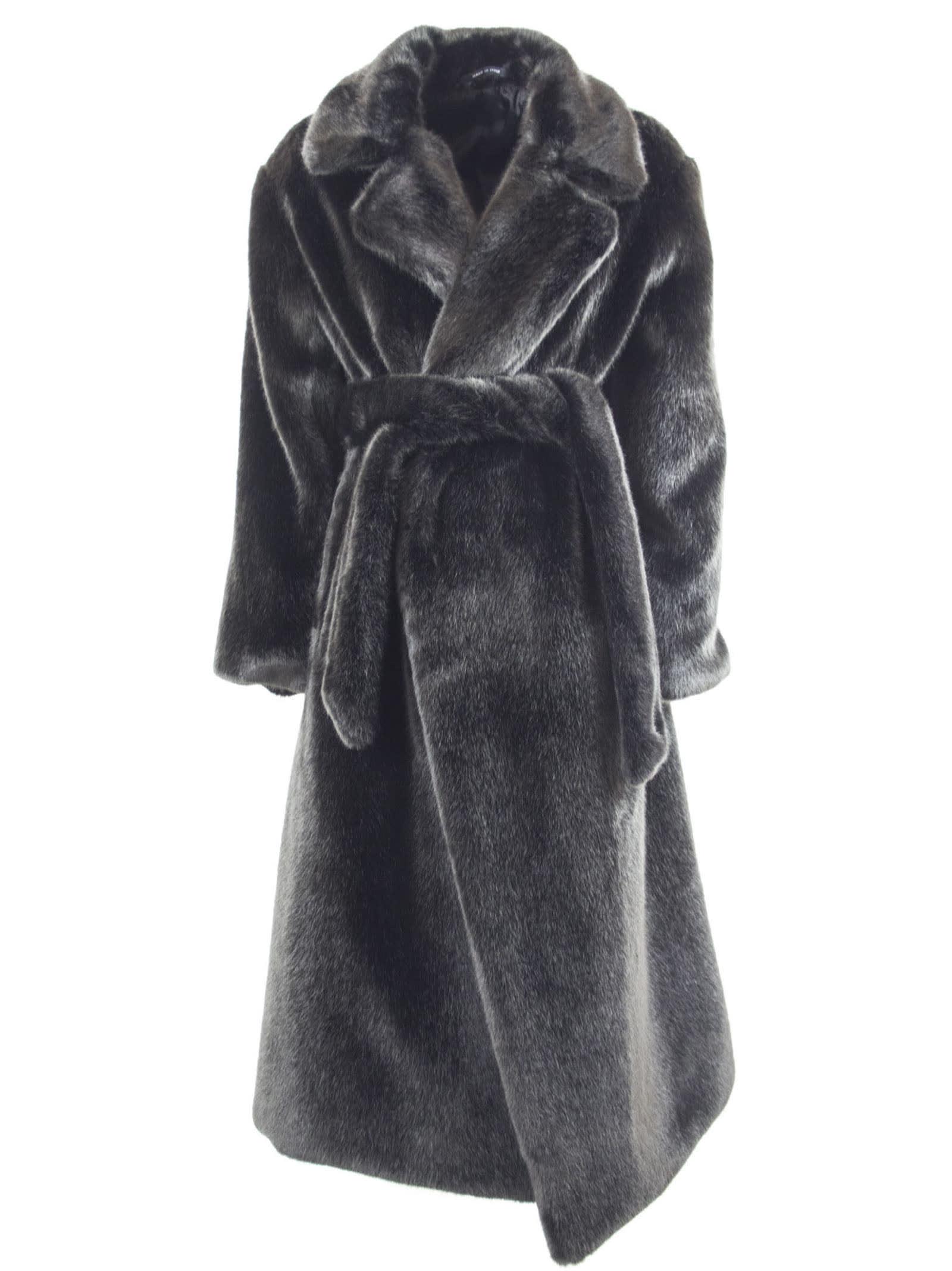 Tagliatore Molly Faux-fur Coat