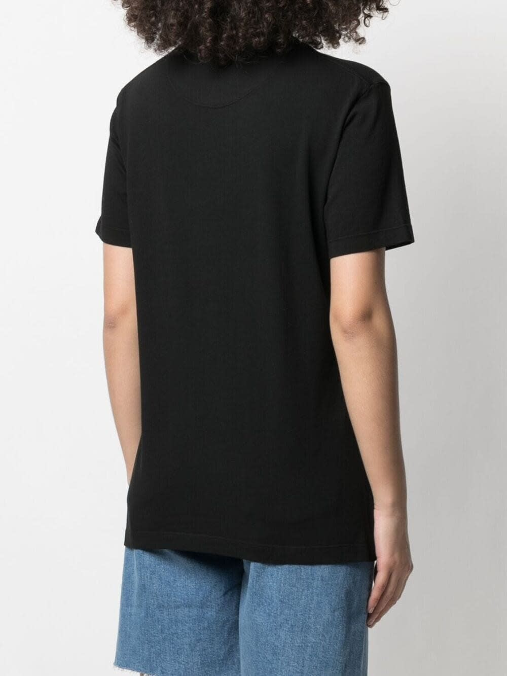 M Missoni Cottons JERSEY T-SHIRT WITH LOGO PRINT