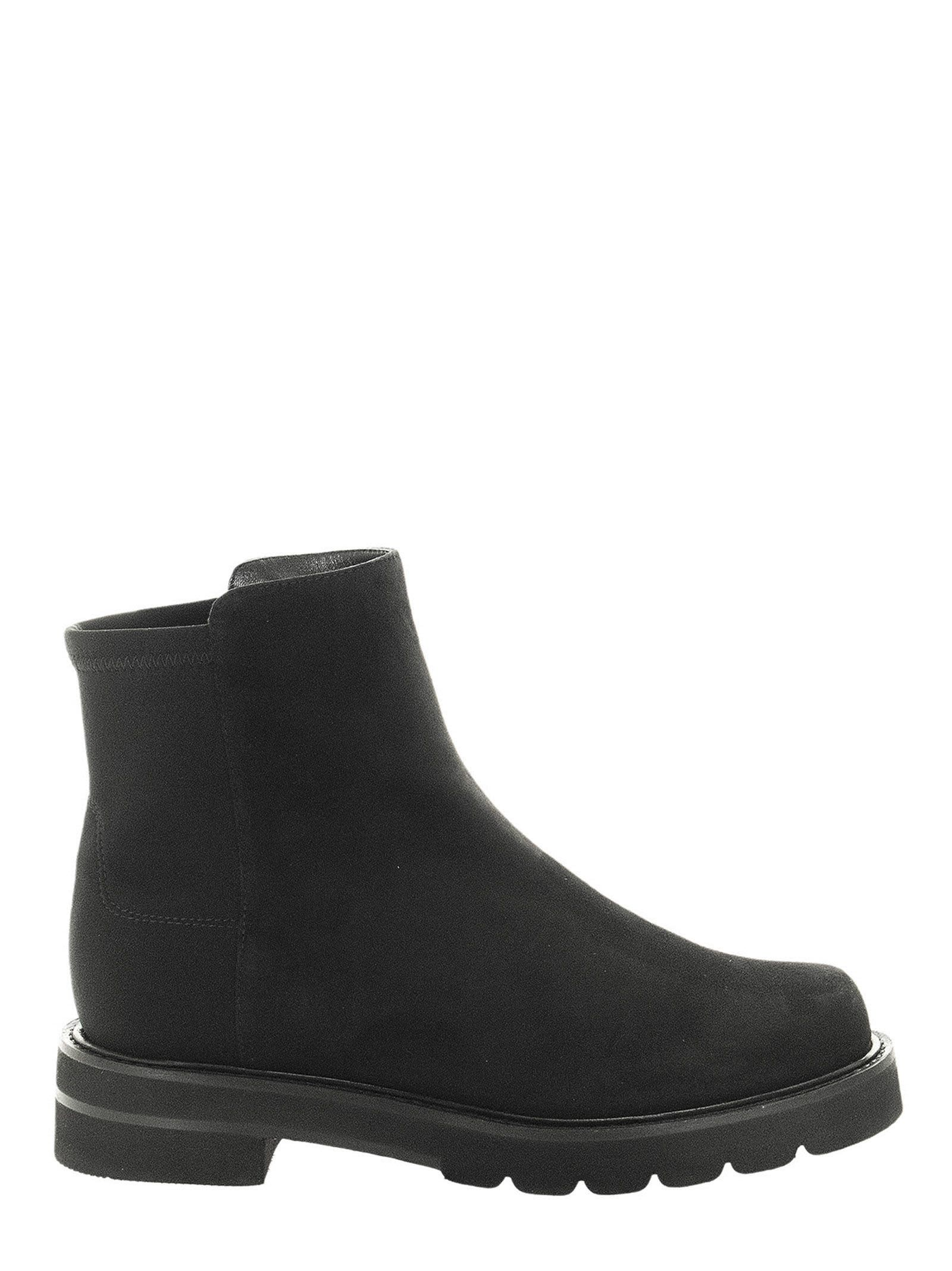 Buy Stuart Weitzman Chelsea 5050 Lift - Suede Ankle Boot online, shop Stuart Weitzman shoes with free shipping