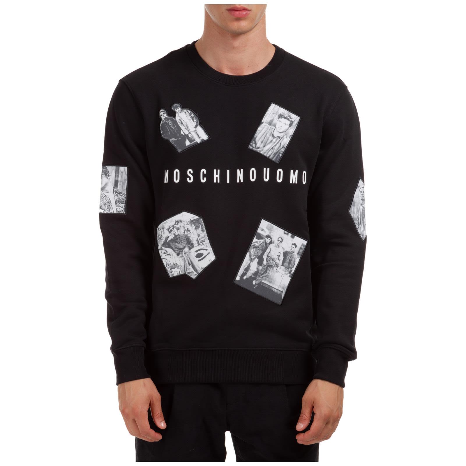 Moschino Photographic Character Sweatshirt