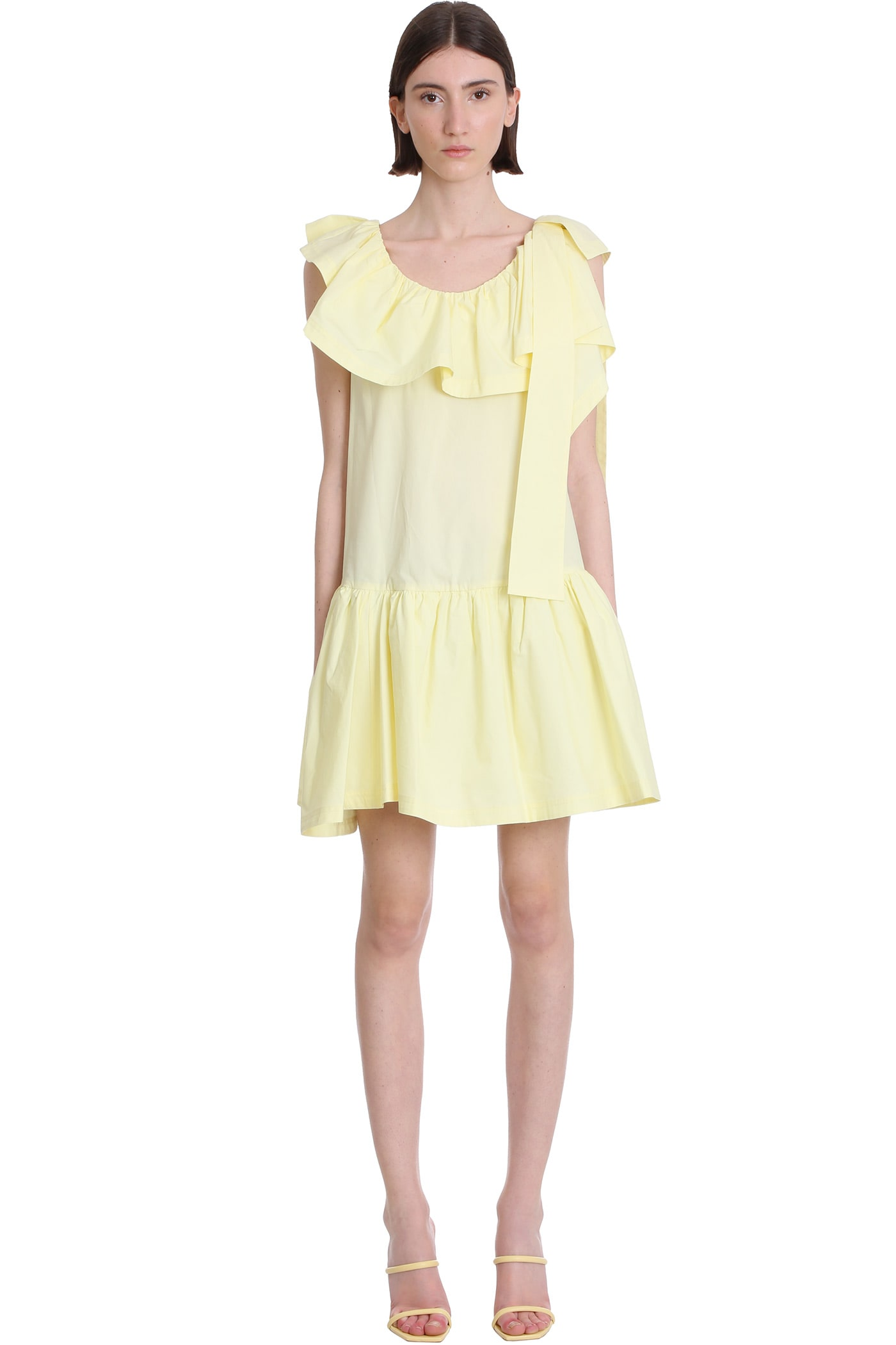 Buy 3.1 Phillip Lim Tent Dress In Yellow Cotton online, shop 3.1 Phillip Lim with free shipping
