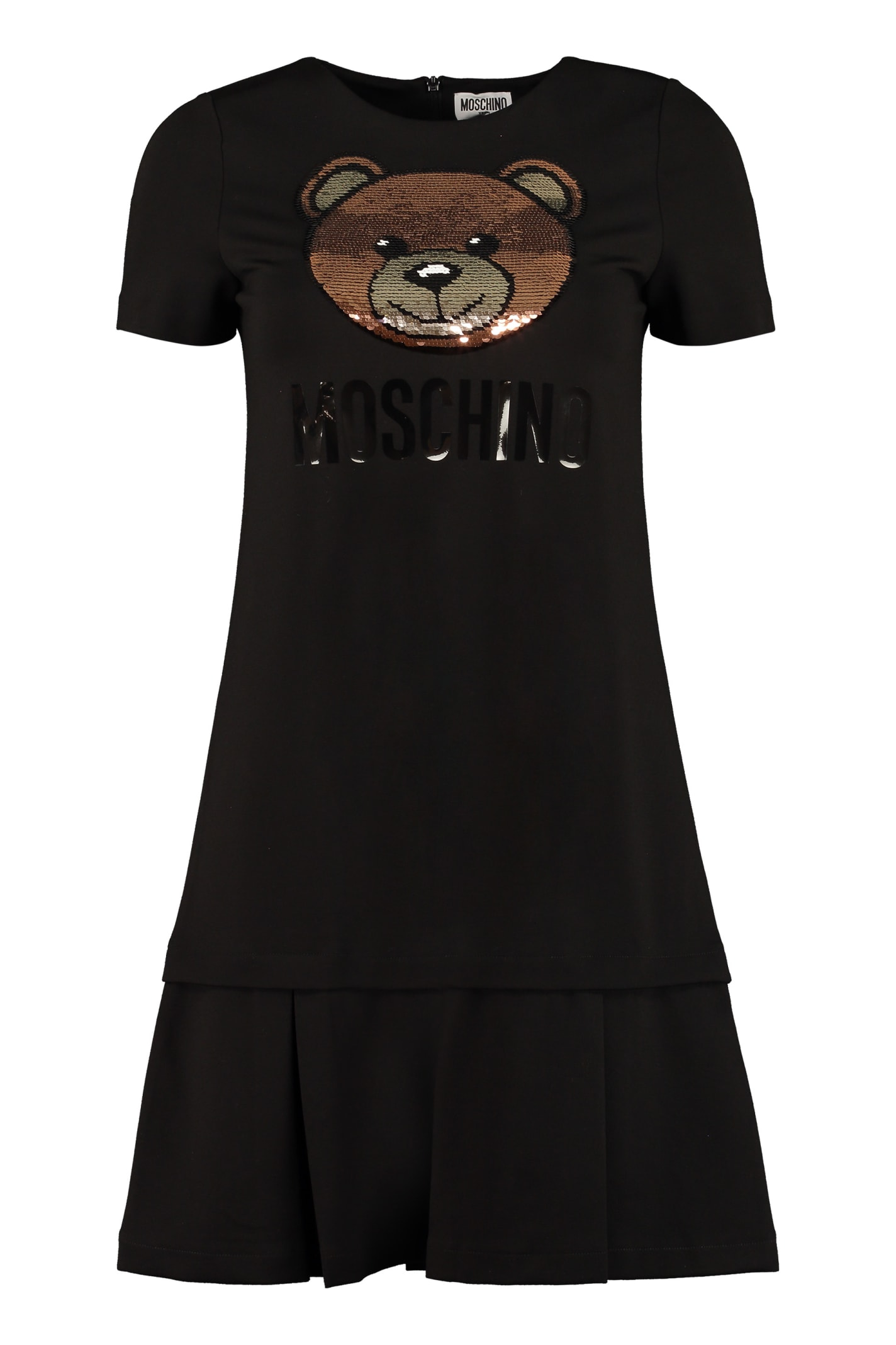 Moschino Sequin Embroidery Dress