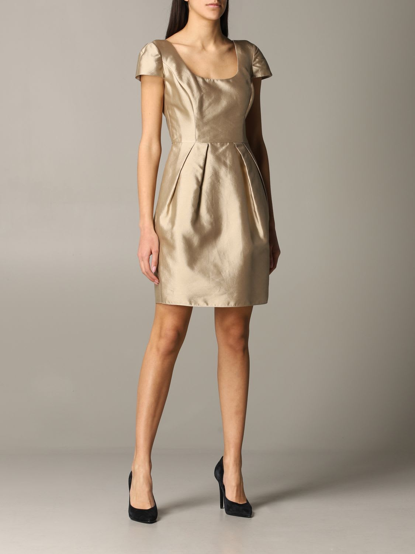 Buy Emporio Armani Dress Emporio Armani Taffeta Dress online, shop Emporio Armani with free shipping