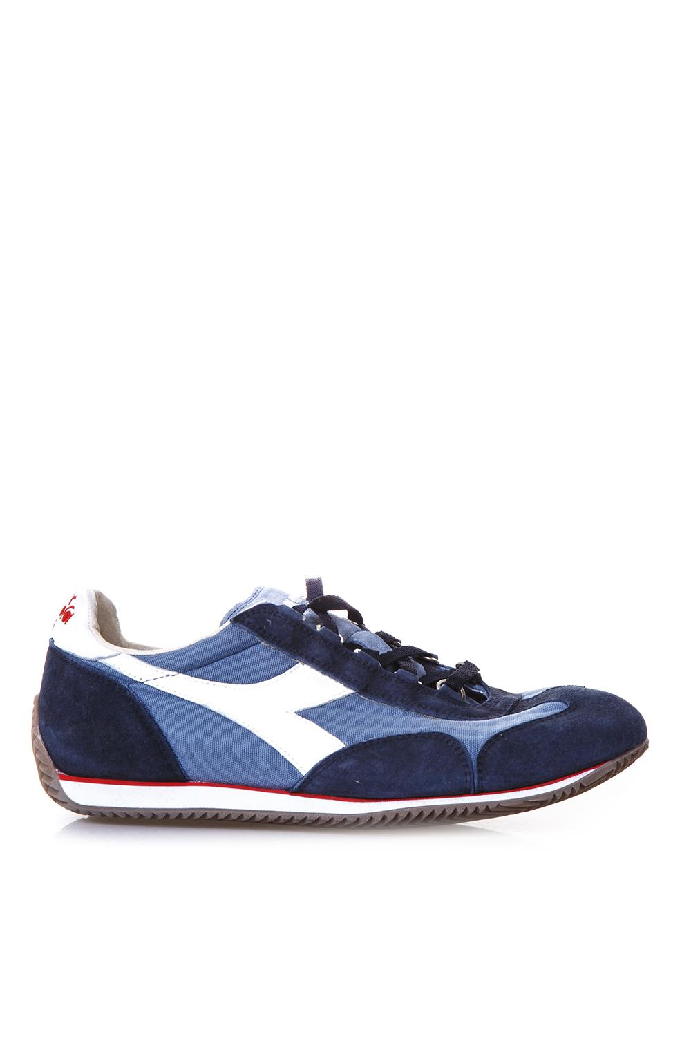 Sneakers Equipe In Canvas And Leather