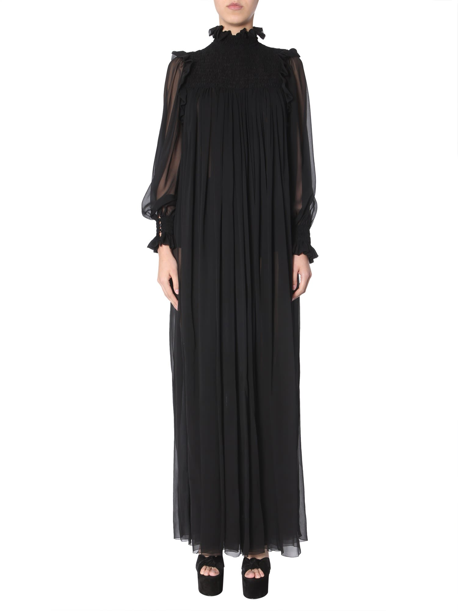Saint Laurent Long Dress