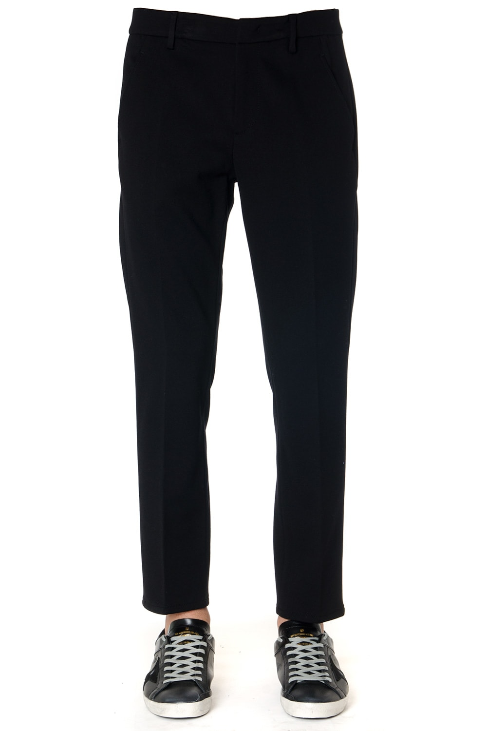 Dondup Black Tailored Trousers