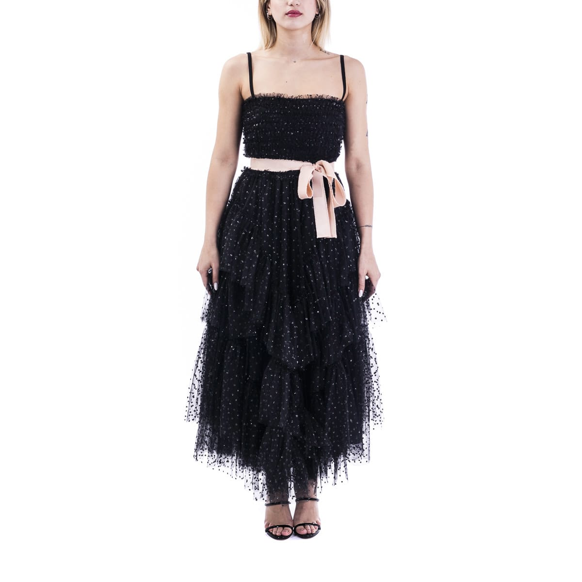 Buy Red Valentino Mesh Dress online, shop RED Valentino with free shipping