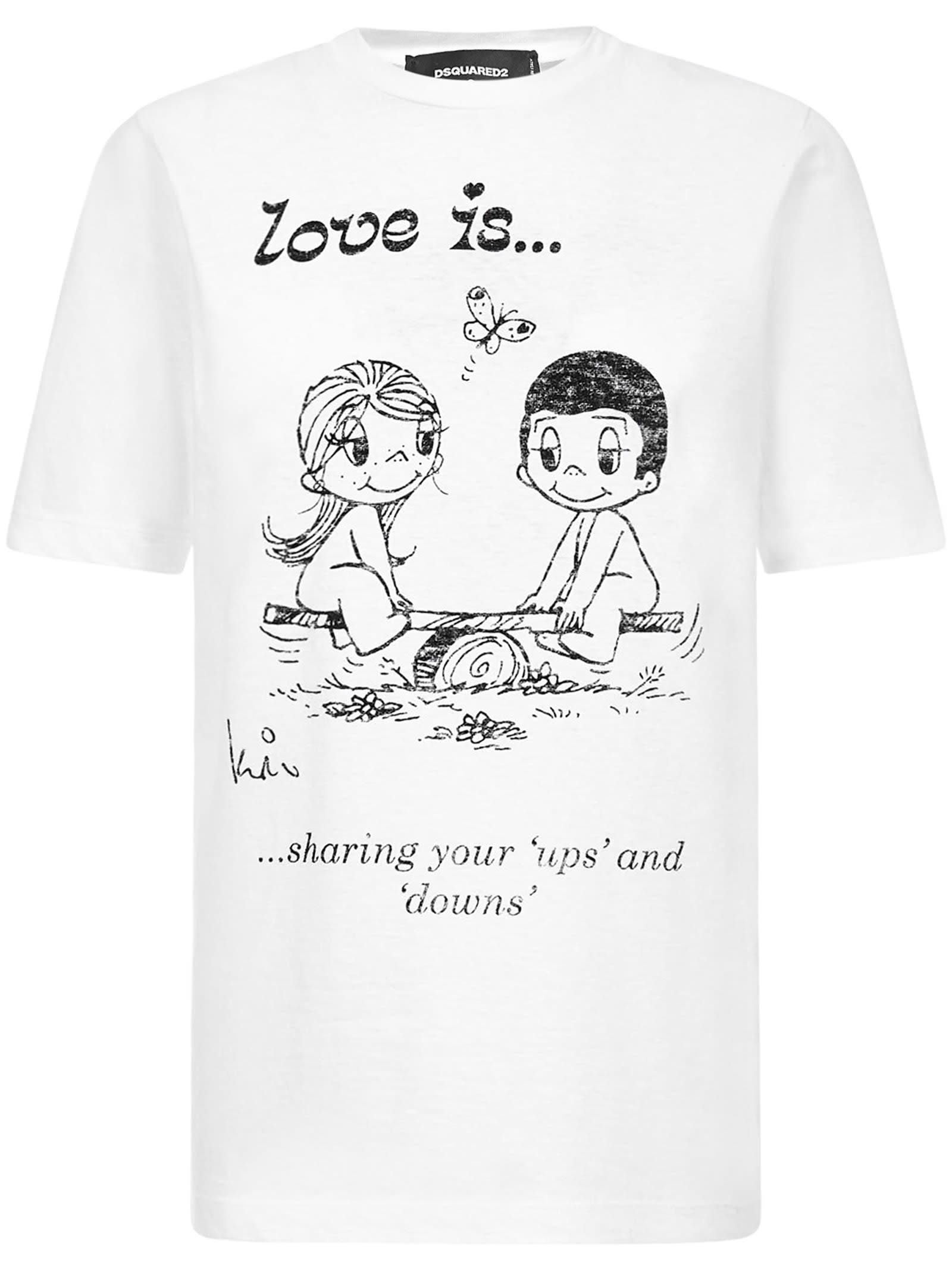 Dsquared2 Love Is T-shirt