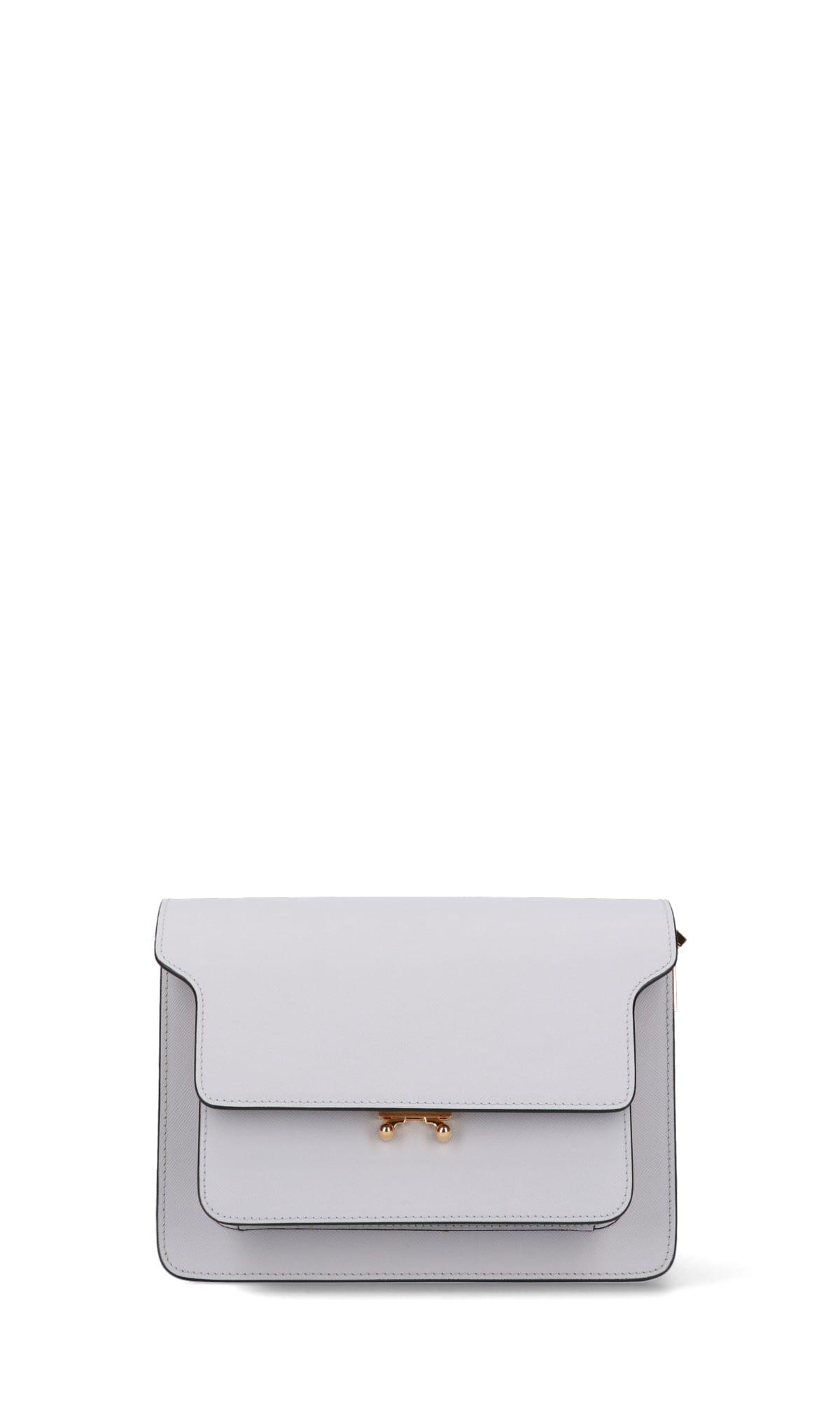 Marni Shoulder Bag In White