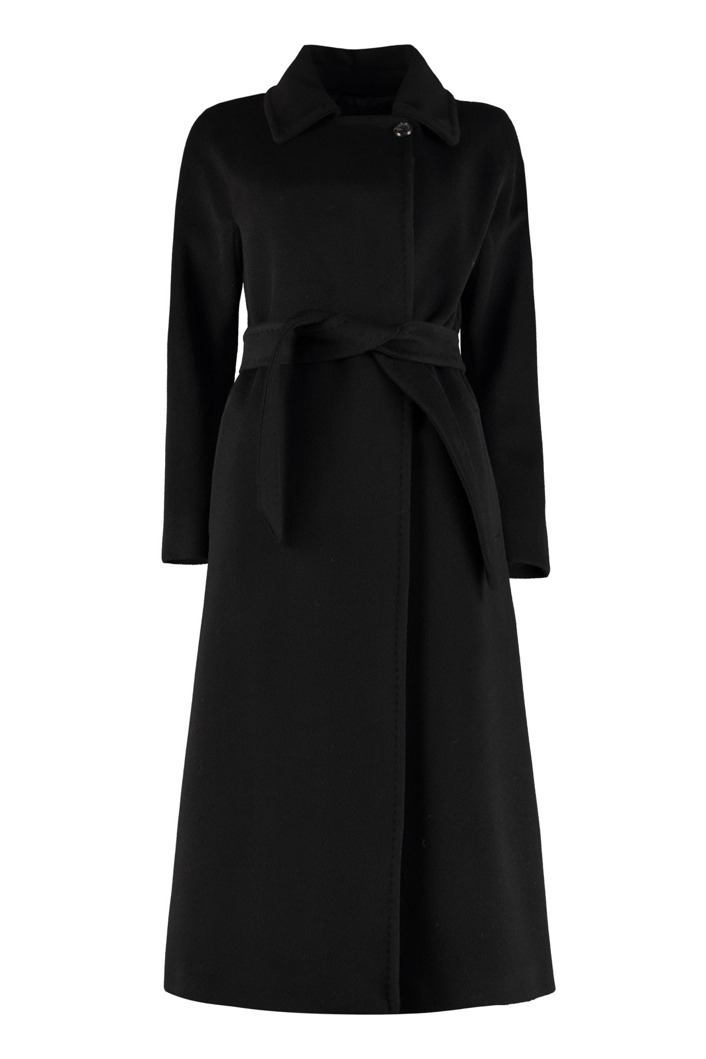 Max Mara Studio Didone Long Wool Coat
