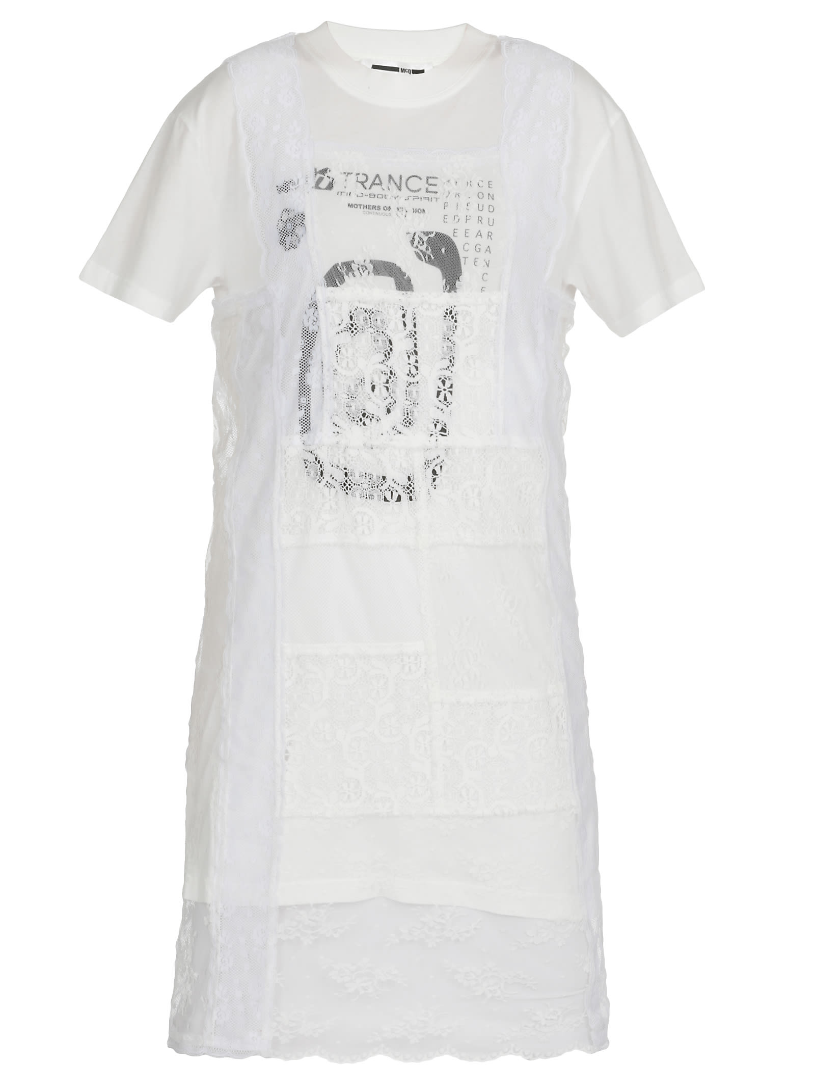 Buy McQ Alexander McQueen Dress With Laces online, shop McQ Alexander McQueen with free shipping