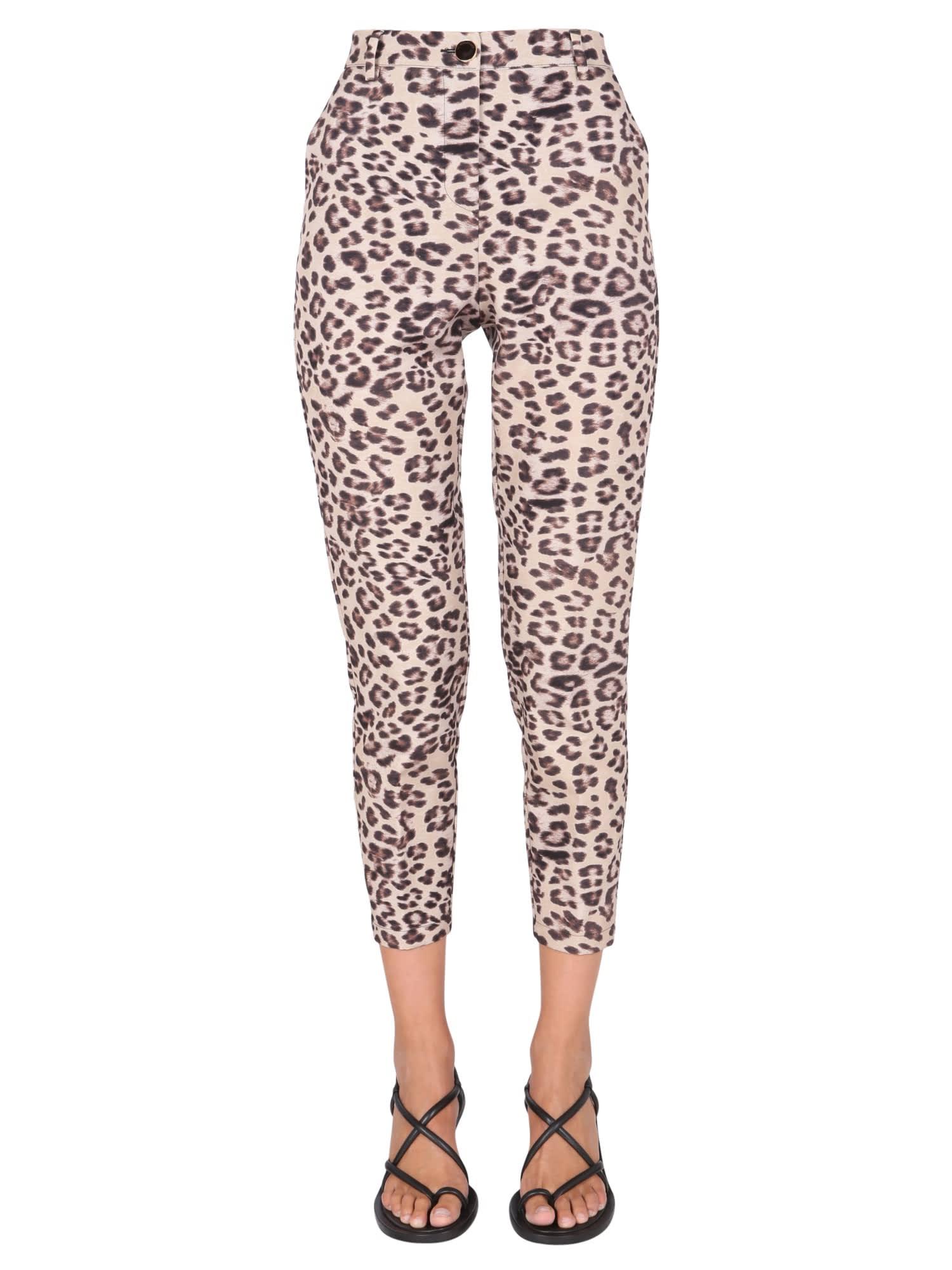 Pants With Animal Motif