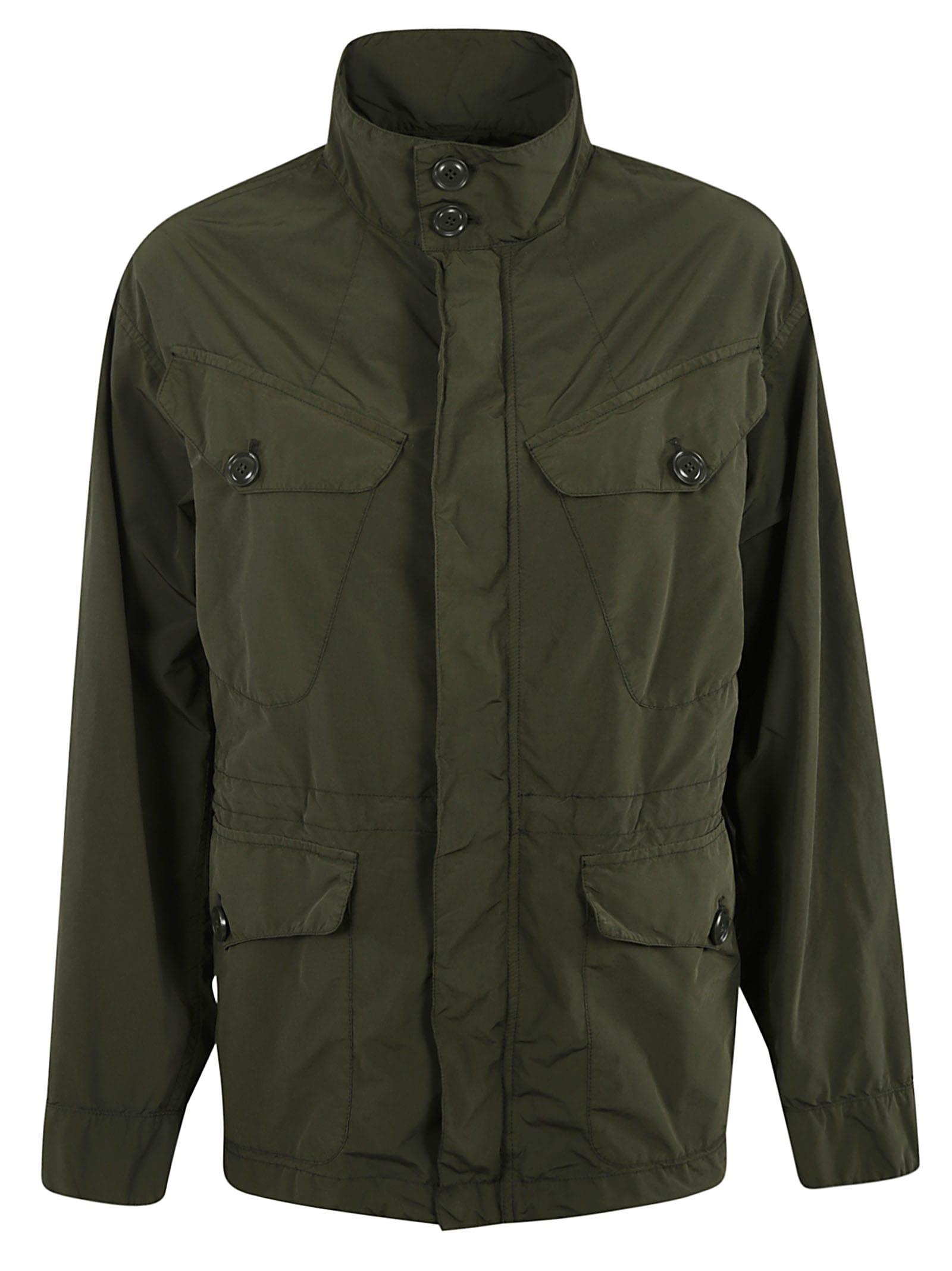 Aspesi Multiple Pocket Concealed Jacket