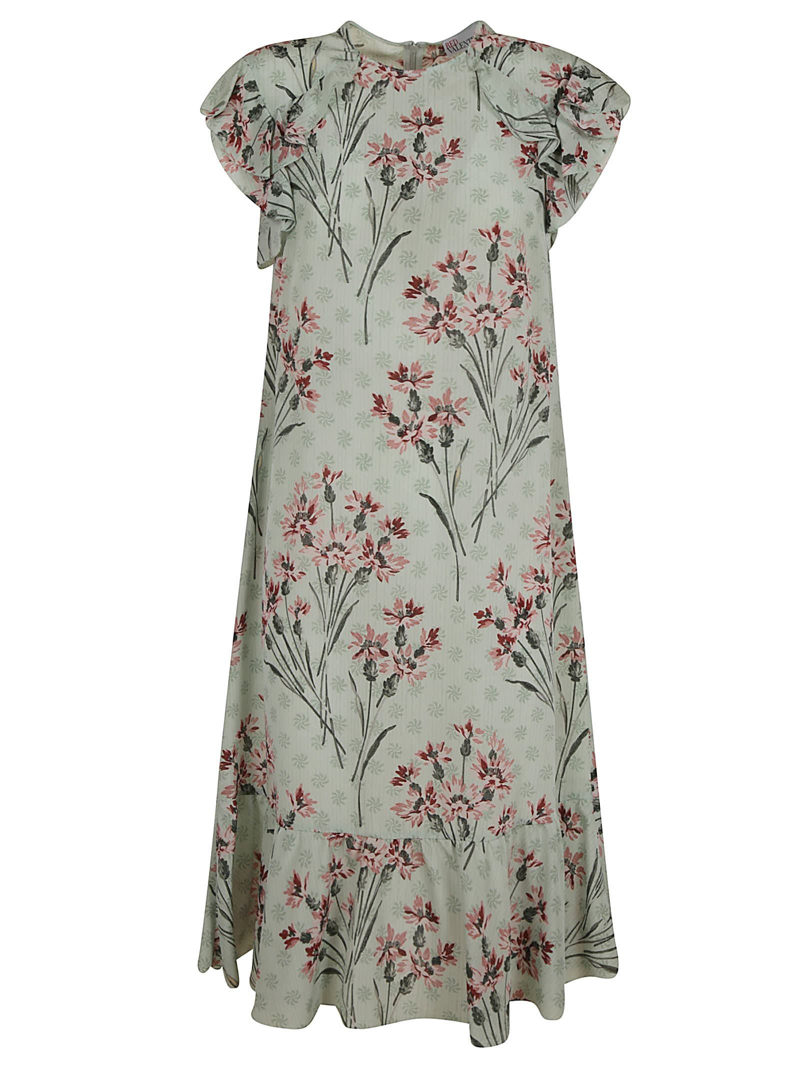 Buy RED Valentino Floral Printed Dress online, shop RED Valentino with free shipping