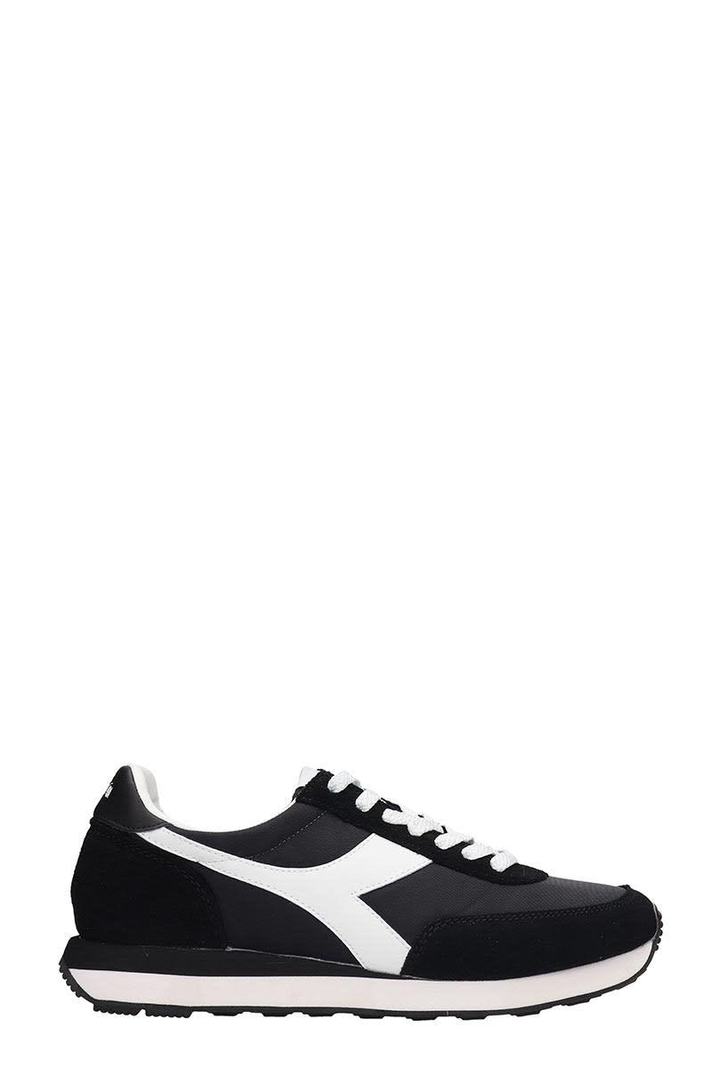 0a7085e90f Diadora Black Fabric And Suede Koala H Sneakers
