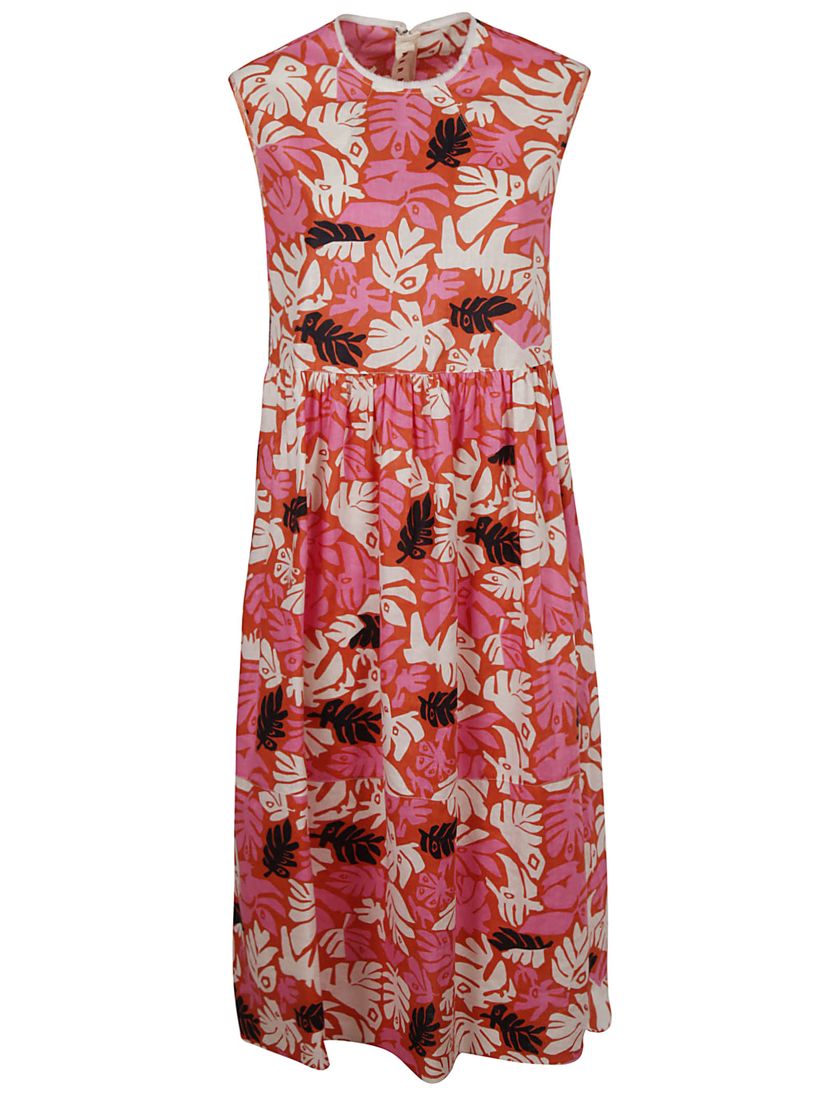 Buy Marni Eyed Leaves Dress online, shop Marni with free shipping