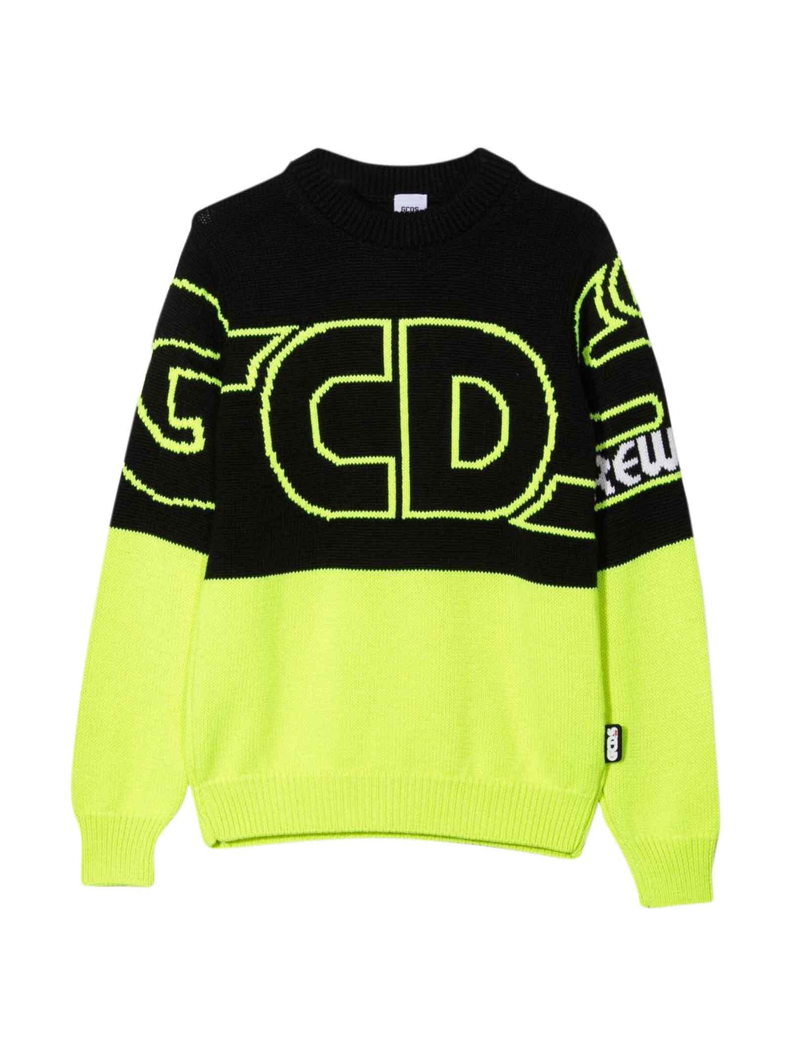 Yellow And Black Sweatshirt