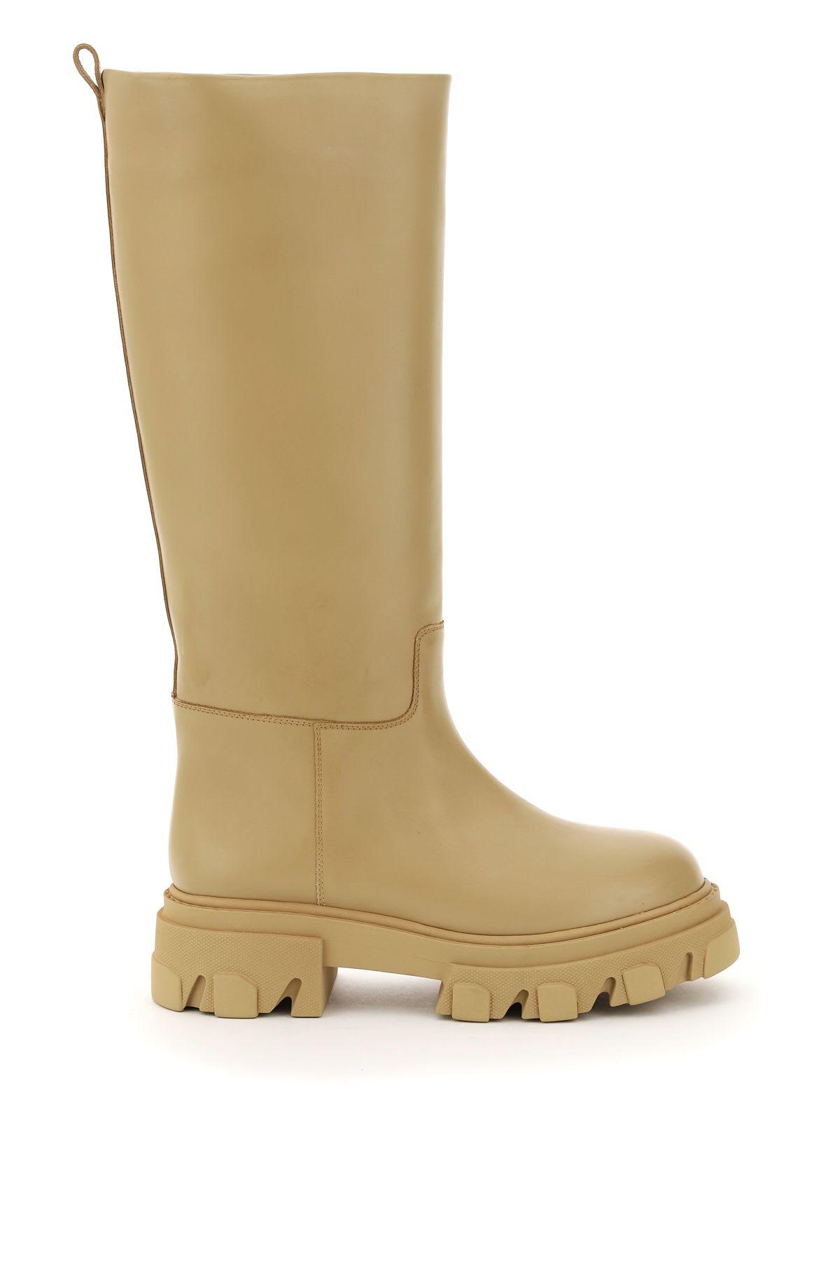 Tubular Combat Boots