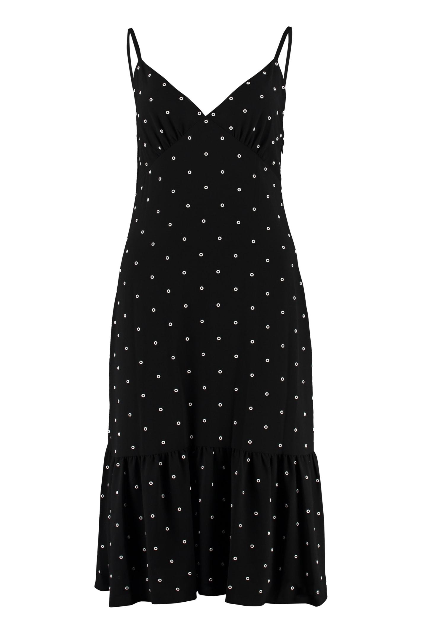 Michael Kors Crepe Slip-dress
