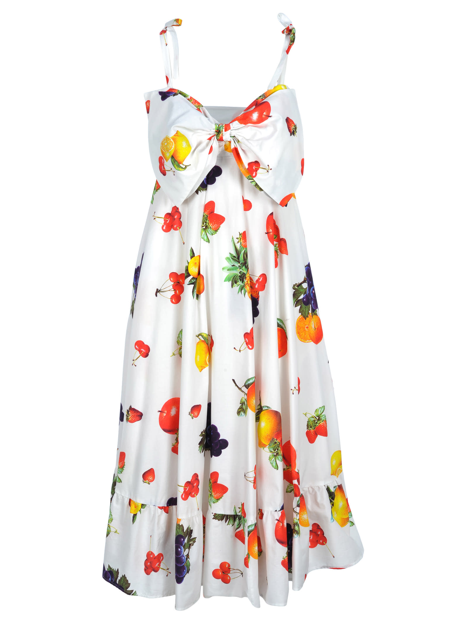 Msgm Msgm Fruits Print Dress