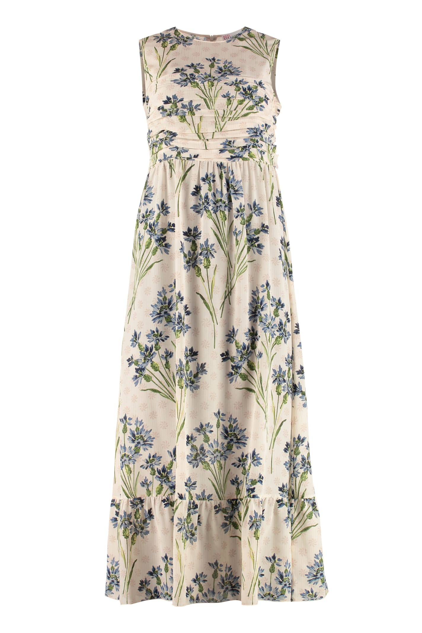 Buy RED Valentino Silk Floral Dress online, shop RED Valentino with free shipping