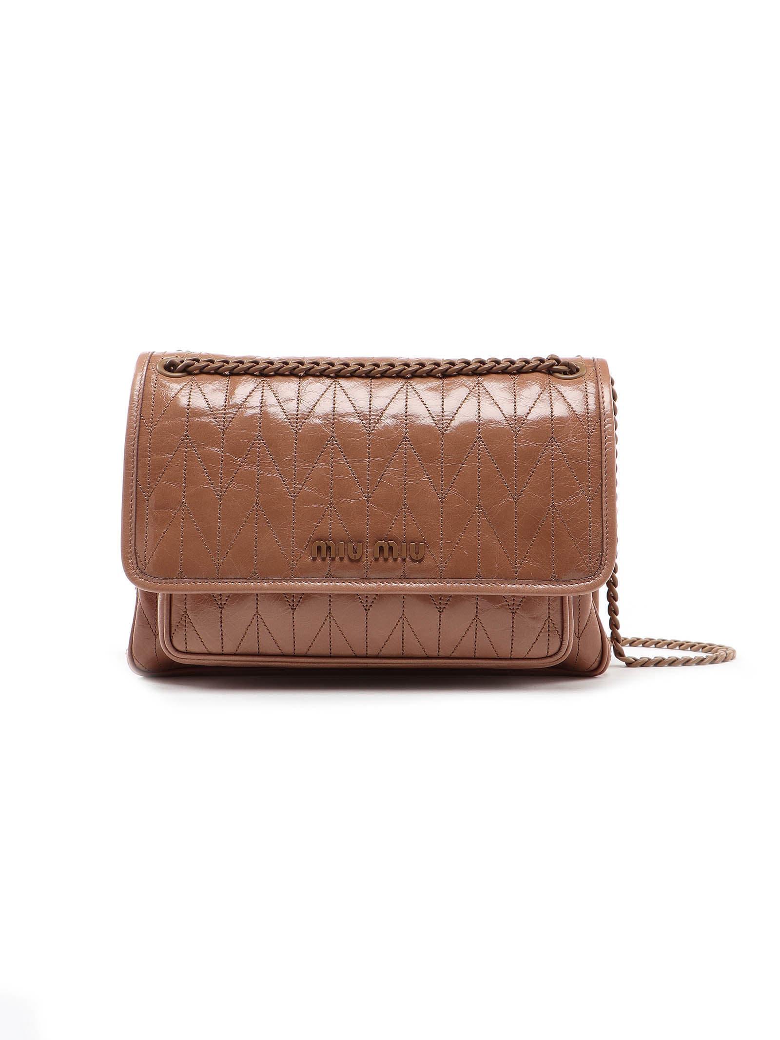 Miu Miu Shoulder Bag Vit. shine