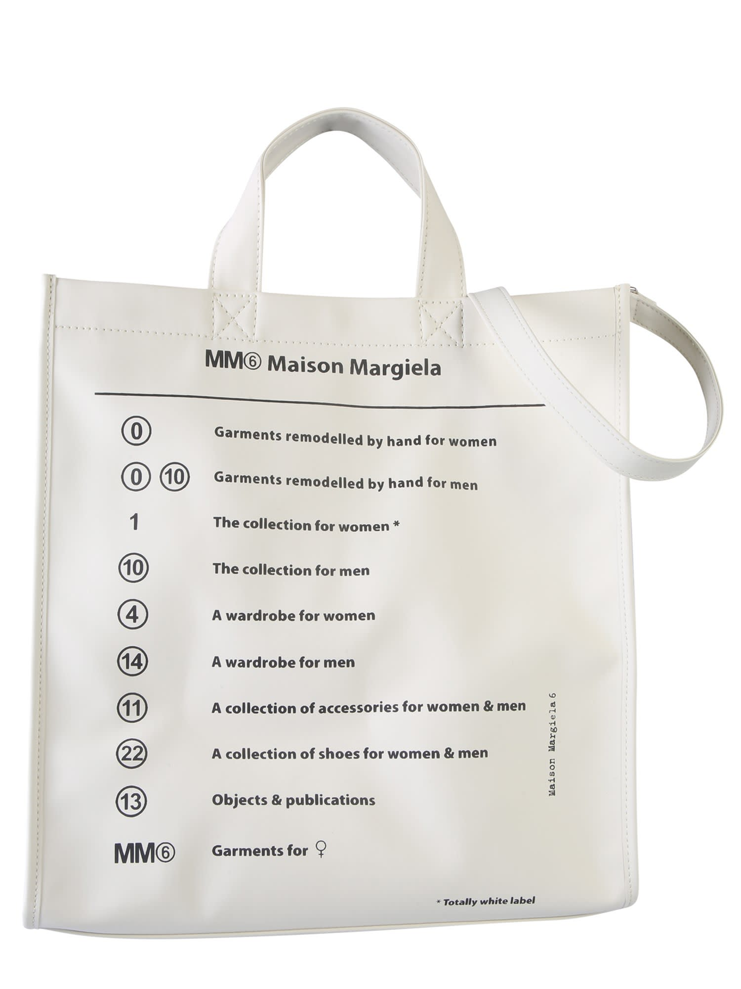 competitive price 1db54 31244 MM6 Maison Margiela Shopping Bag With Logo