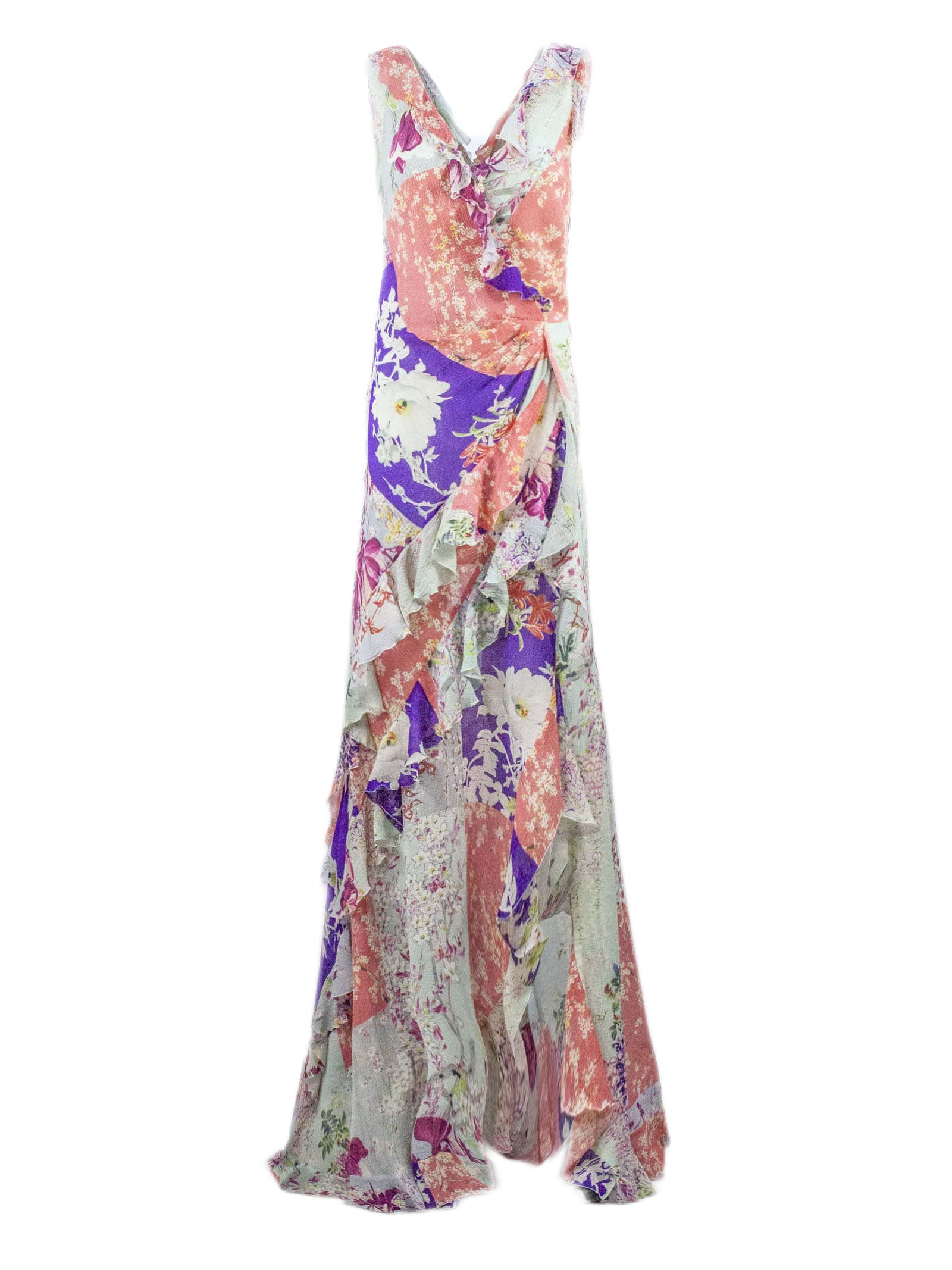 Buy Etro Long Jersey Crepe Dress online, shop Etro with free shipping