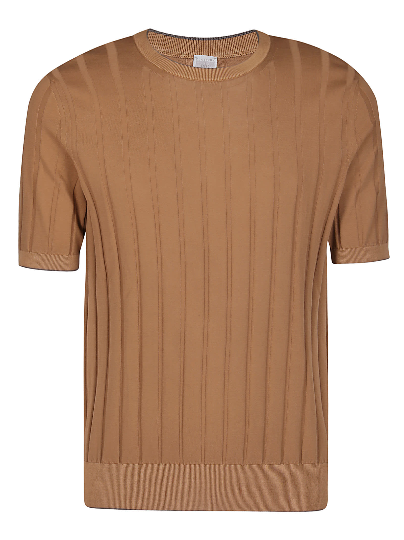Eleventy Brown Cotton Top