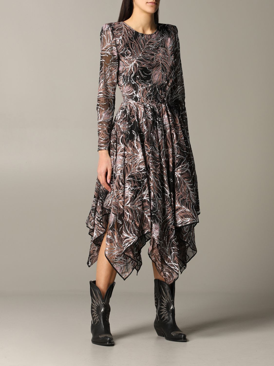Buy Etro Dress Etro Maxi Dress With Asymmetrical Hem online, shop Etro with free shipping