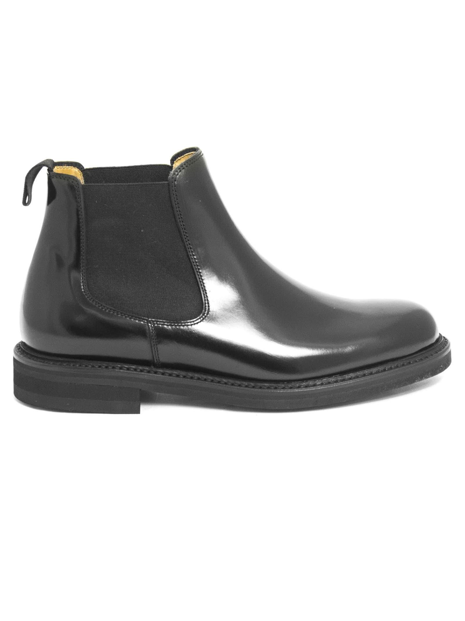 Berwick 1707 Black Leather Boots