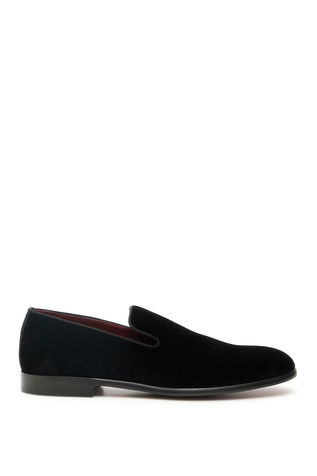 Dolce & Gabbana Milano Velvet Loafers