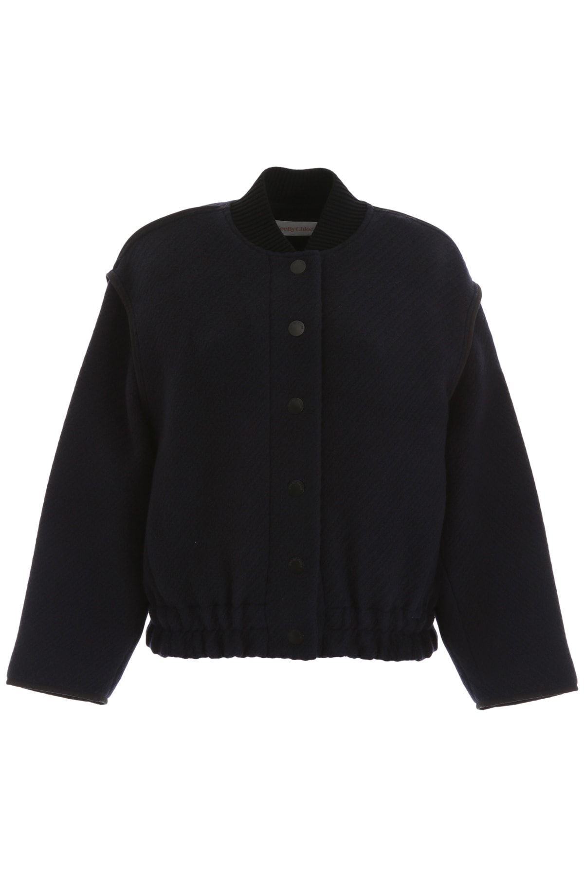 See by Chloé Wool Bomber Jacket