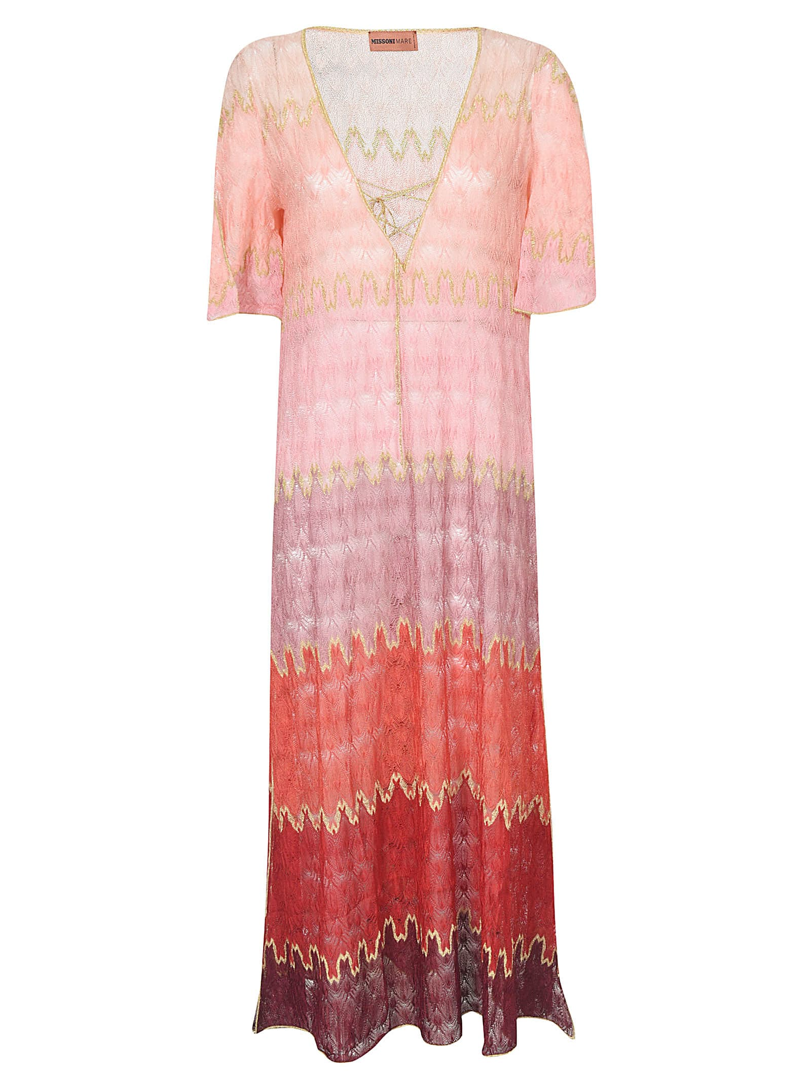 Buy Missoni Copricostume Short-sleeve Dress online, shop Missoni with free shipping
