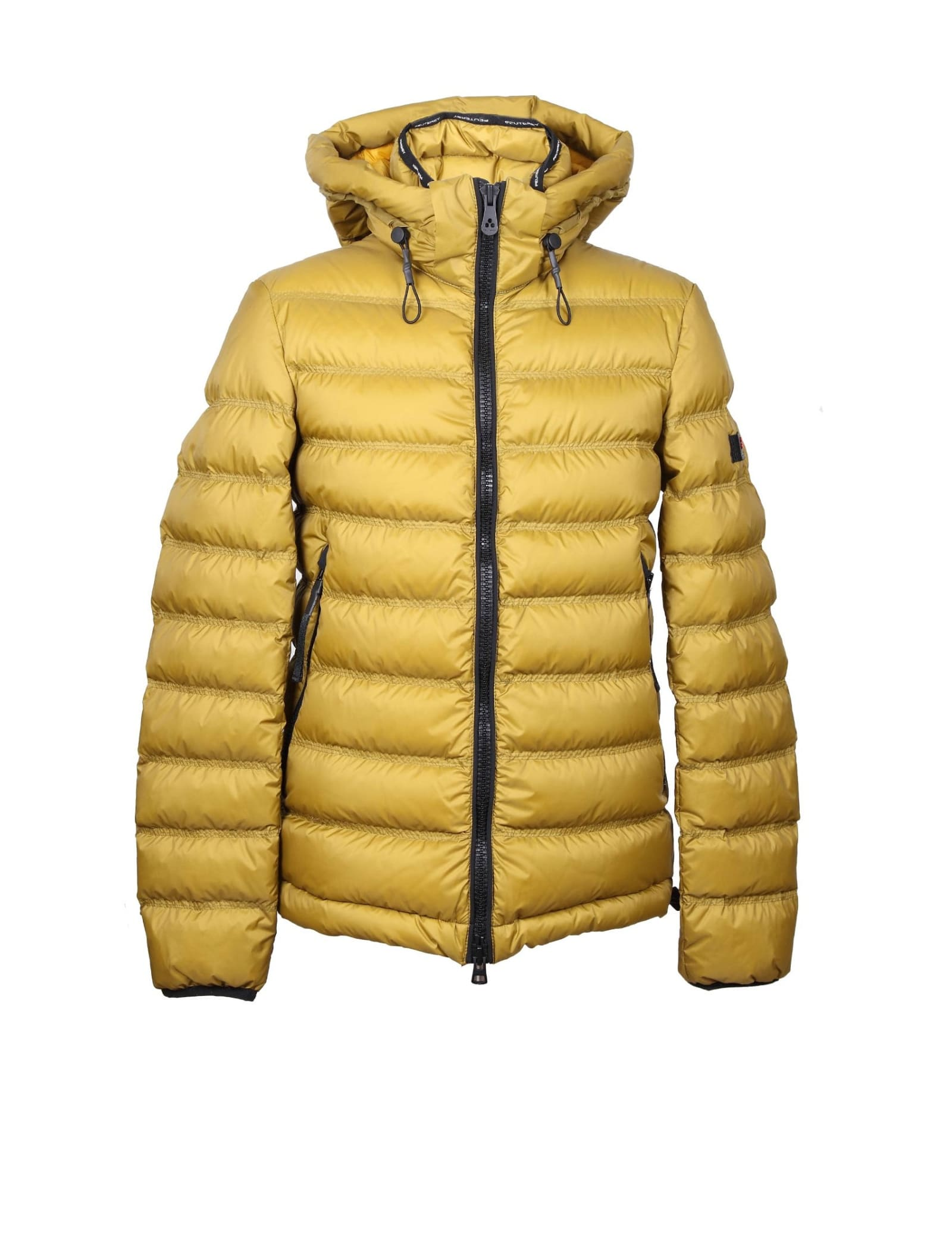 Peuterey Downs BOGGS DOWN JACKET IN GREEN COLOR NYLON
