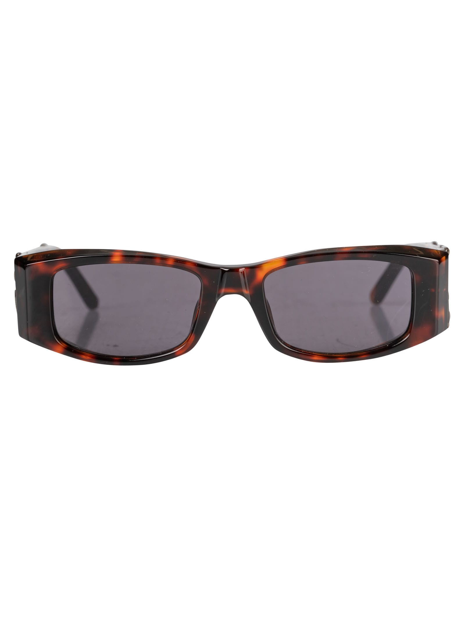 Palm Angels Pa01 Sunglasses In Brown/dark Grey