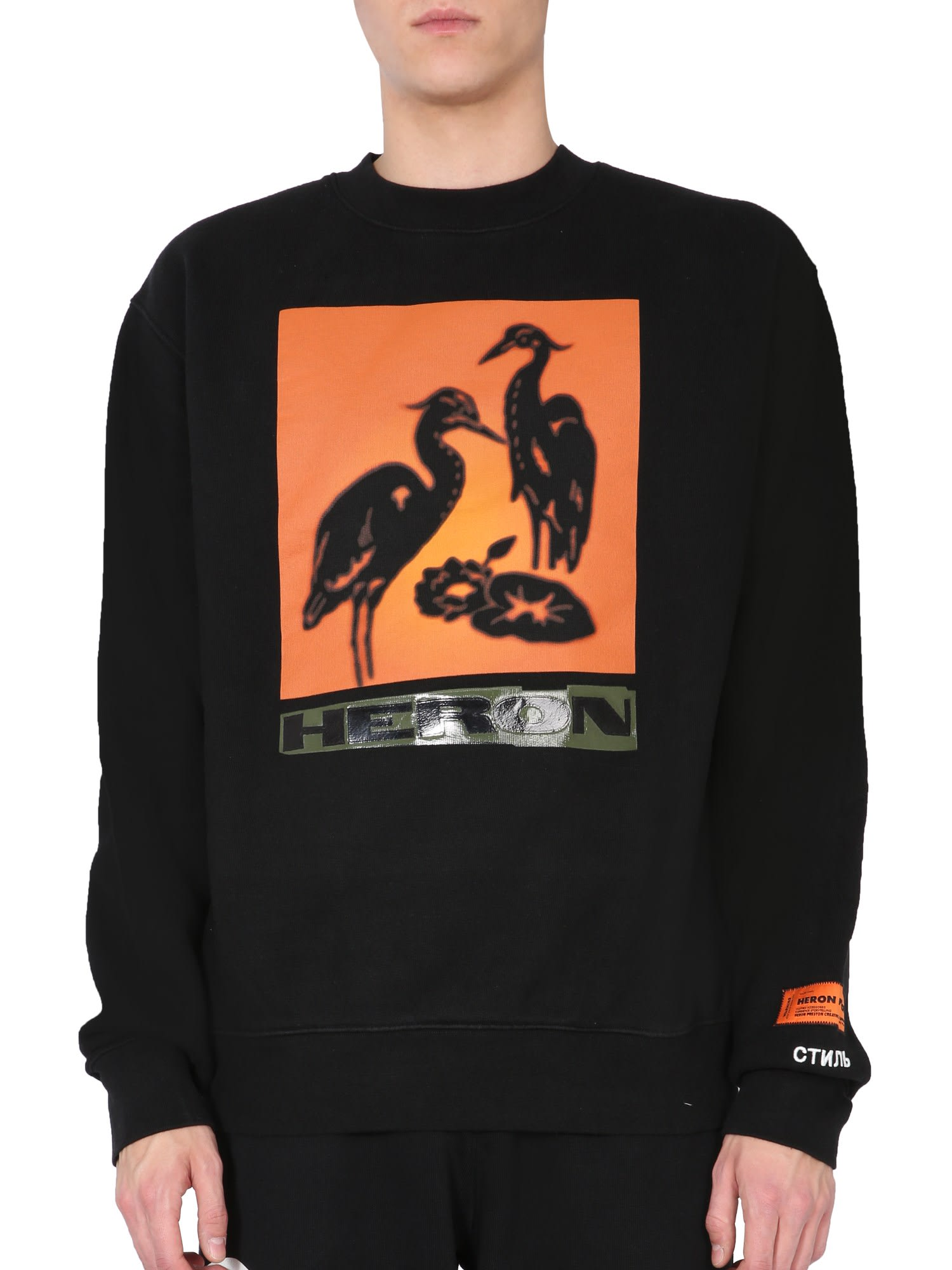 Heron Preston CREW NECK SWEATSHIRT