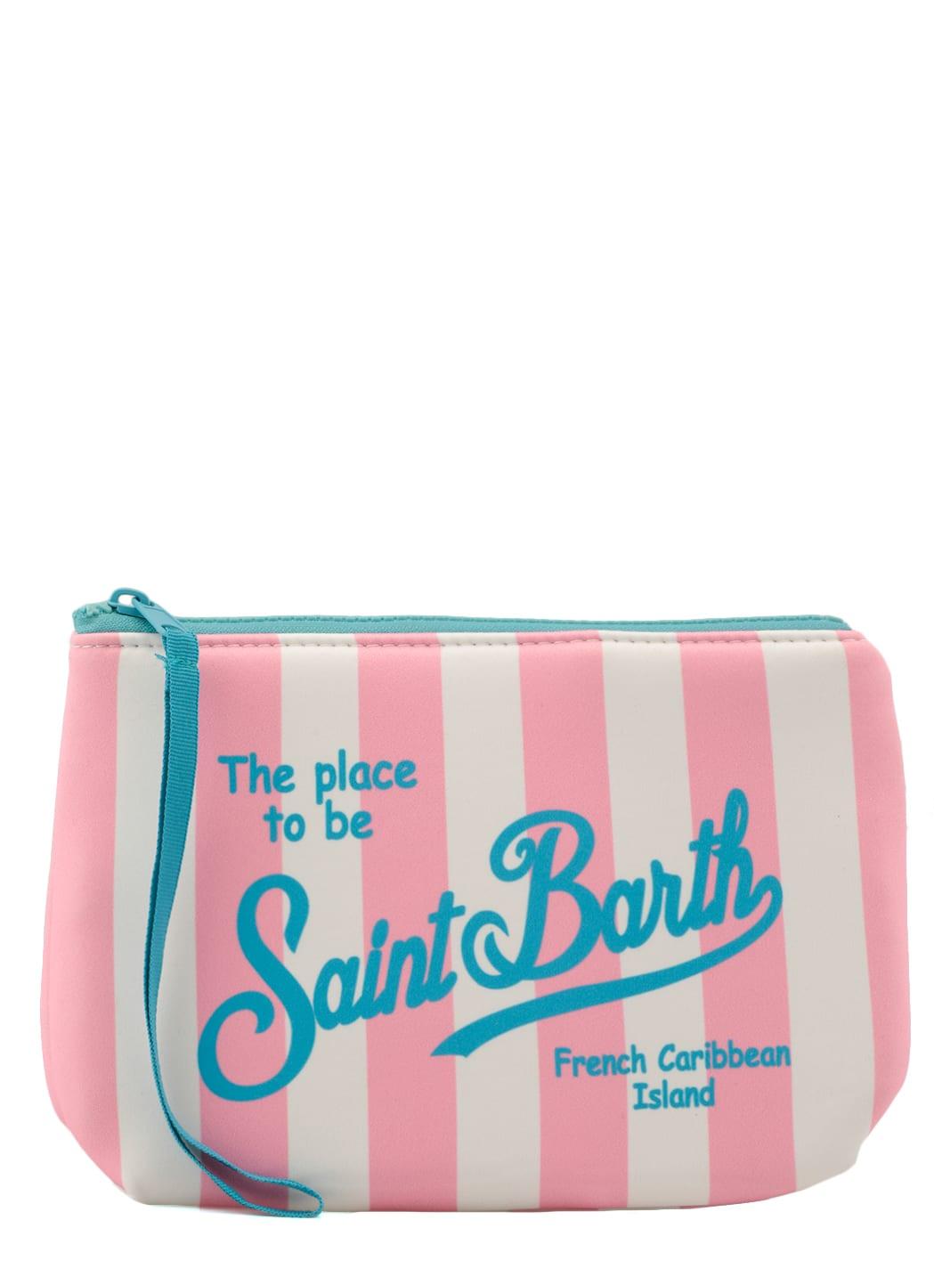 Mc2 Saint Barth Clutches SCUBA FABRIC CLUTCH