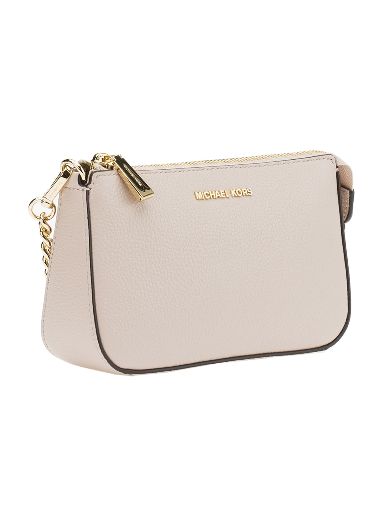 Best price on the market at italist | MICHAEL Michael Kors MICHAEL Michael Kors Pouches And Clutches Md Chain Pouchette